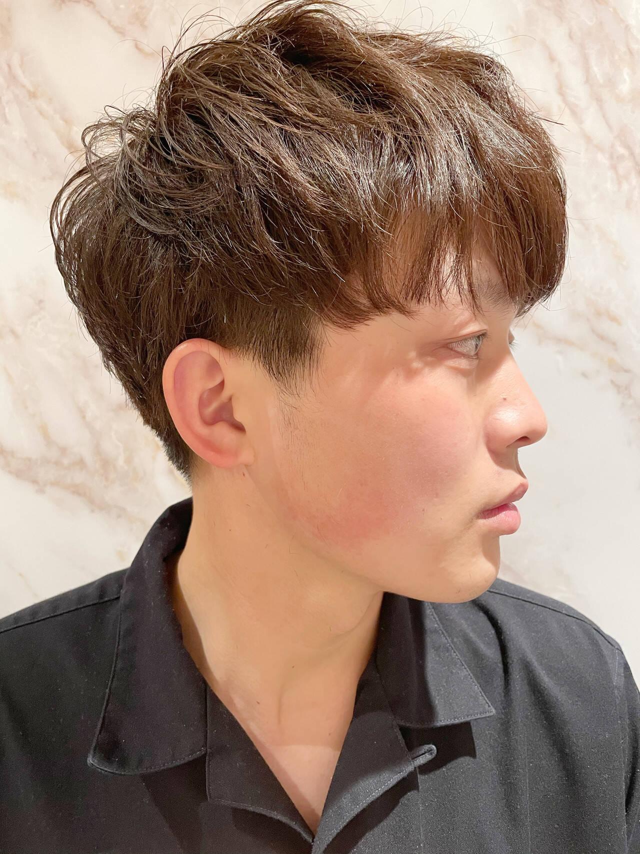 黒髪 メンズ ショートヘア ショートヘアスタイルや髪型の写真・画像