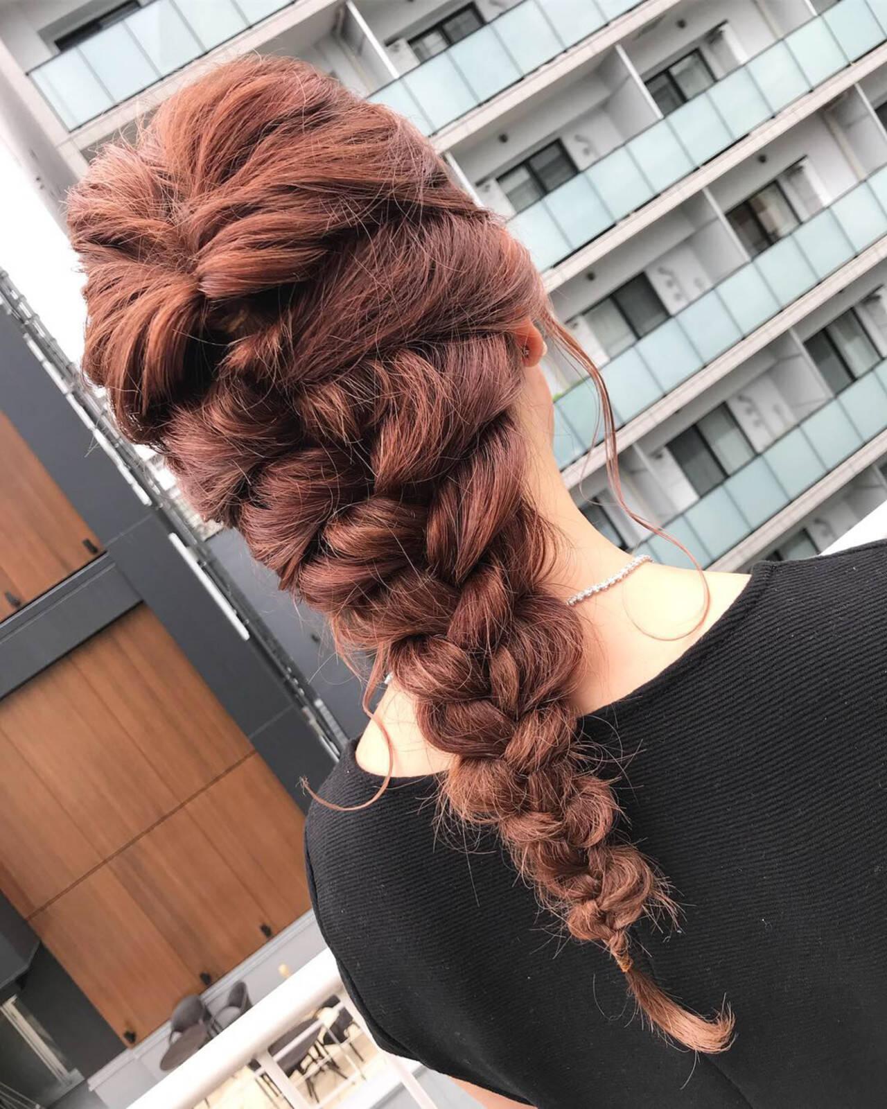 ロング 成人式 ナチュラル ヘアアレンジヘアスタイルや髪型の写真・画像