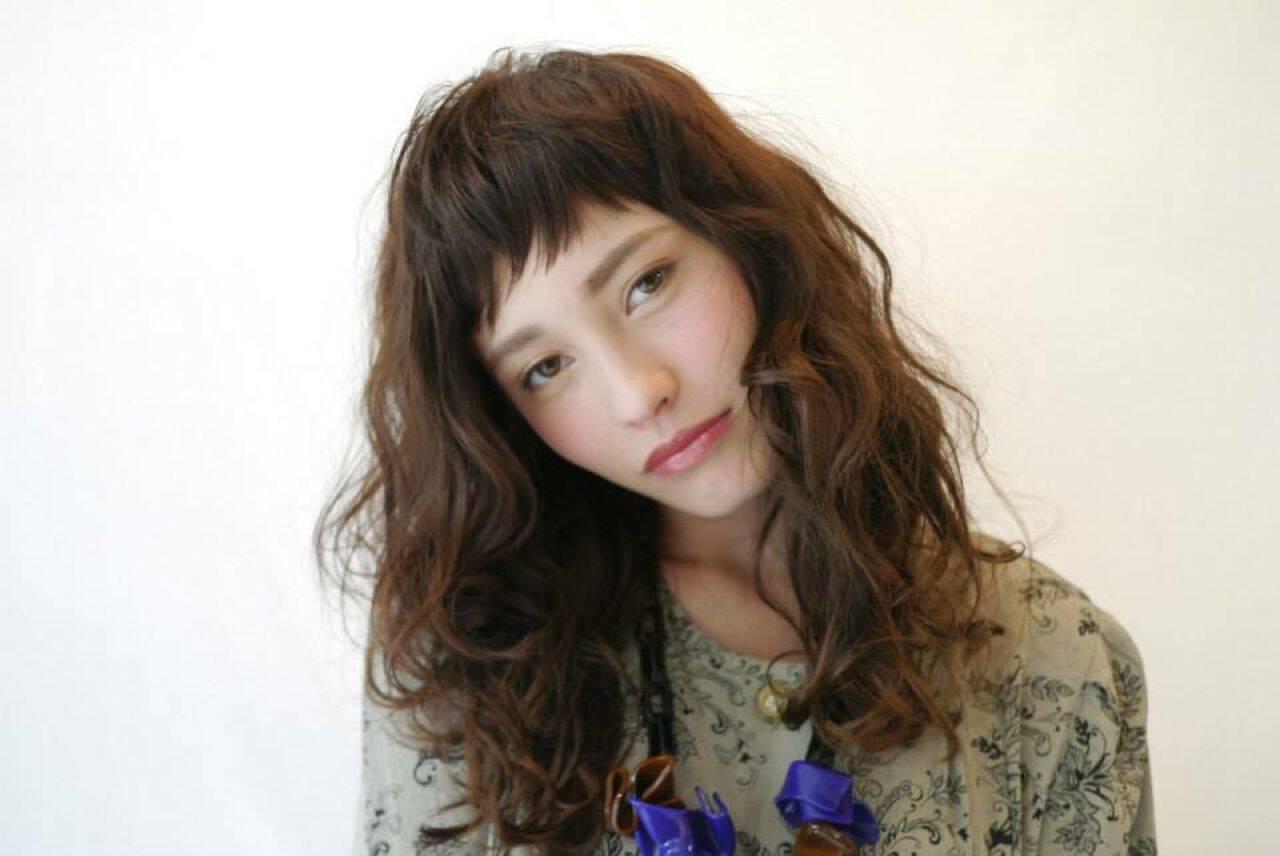 春 ミディアム ストリート パンクヘアスタイルや髪型の写真・画像