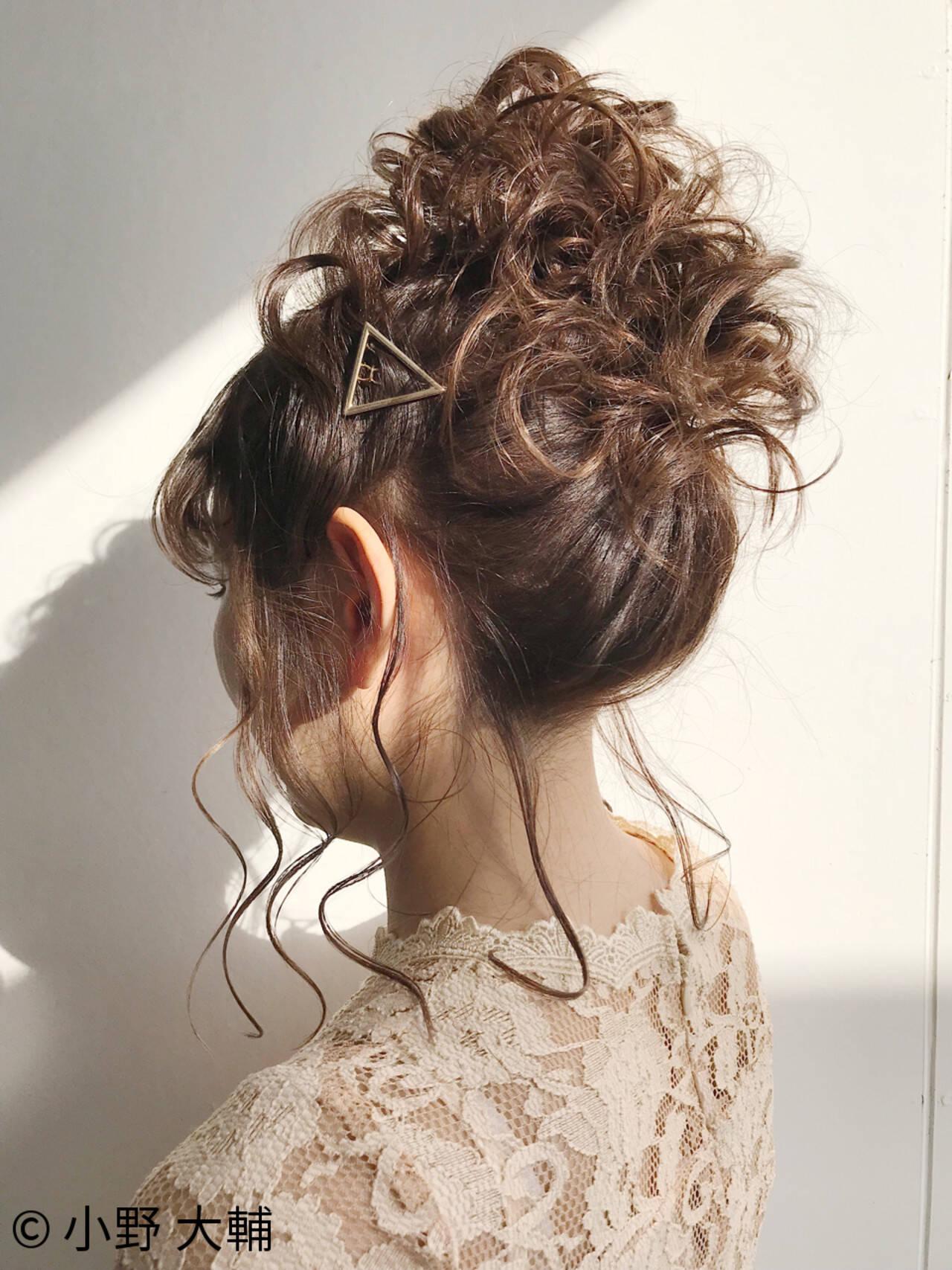 お団子 ヘアアレンジ 愛され 結婚式ヘアスタイルや髪型の写真・画像