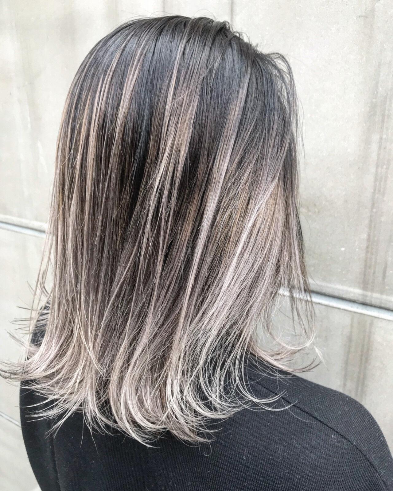 ミディアム ヘアアレンジ 簡単ヘアアレンジ ストリートヘアスタイルや髪型の写真・画像