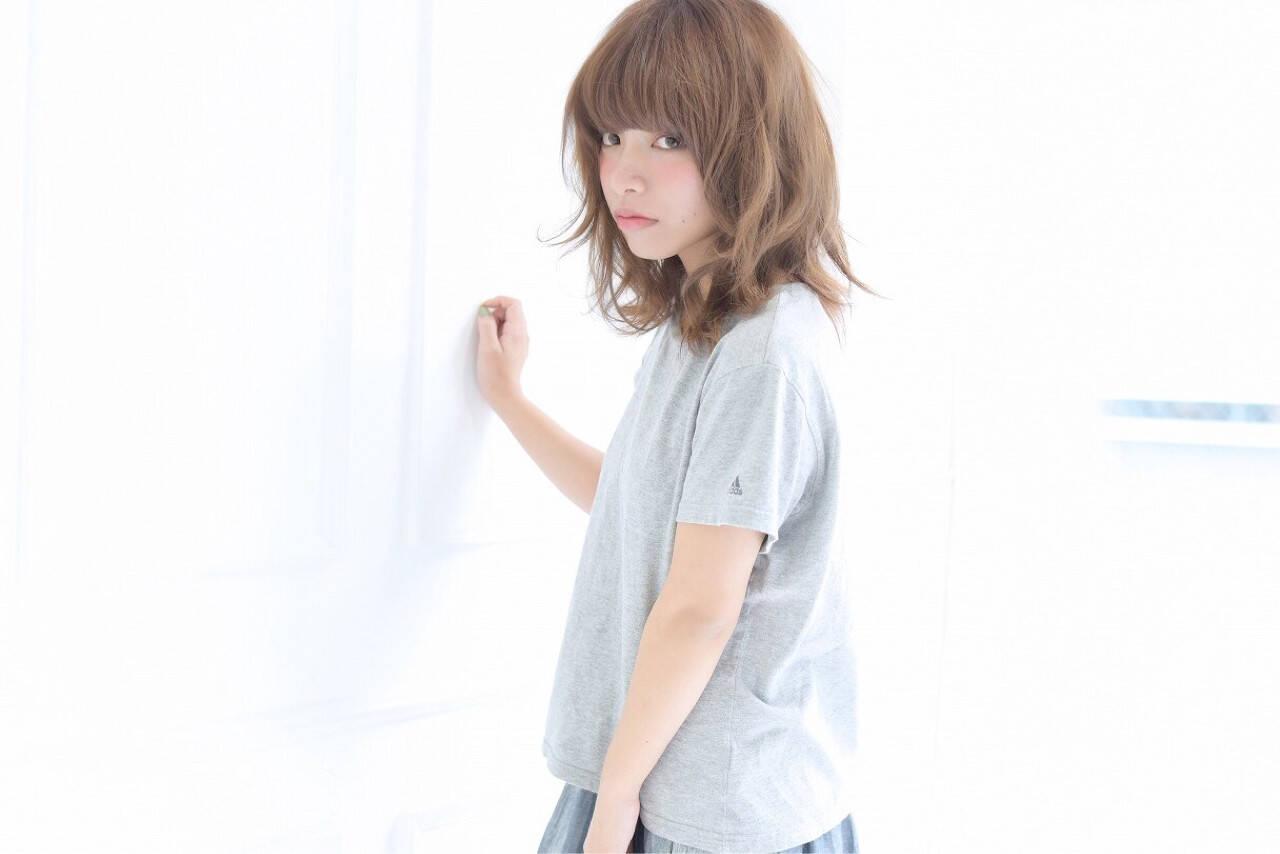 色気 アッシュ パーマ ボブヘアスタイルや髪型の写真・画像