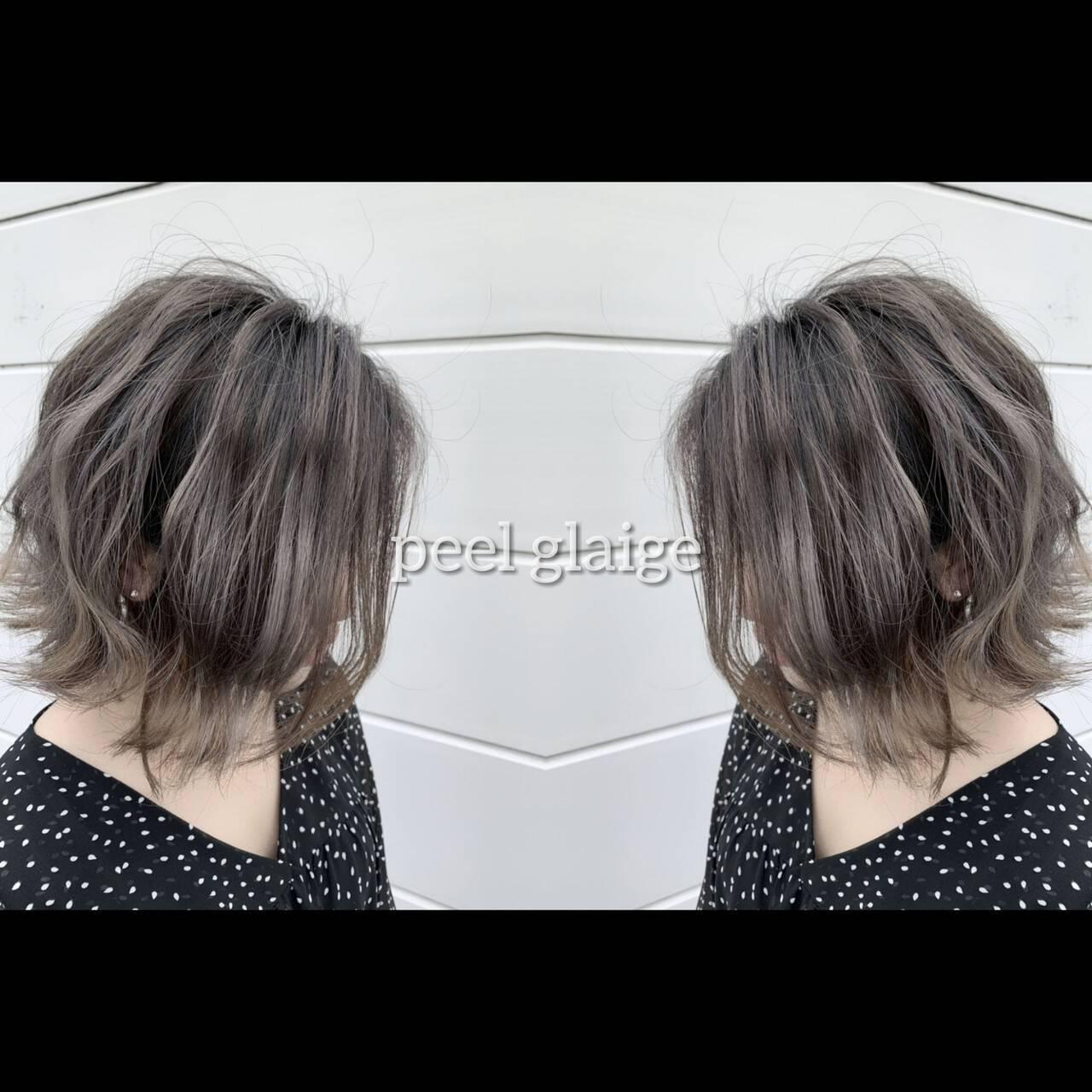 外国人風カラー イルミナカラー グラデーションカラー 3Dハイライトヘアスタイルや髪型の写真・画像