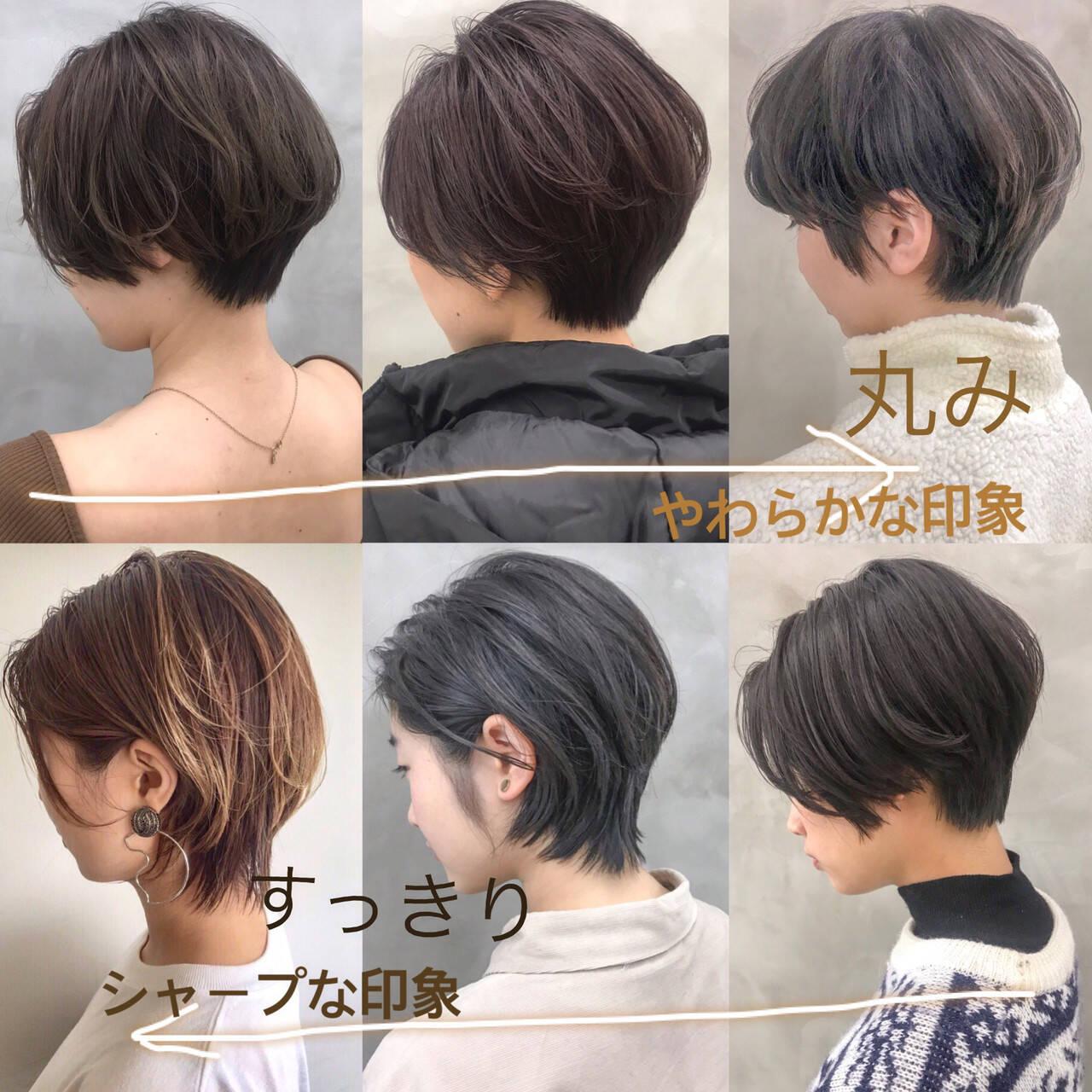 マッシュ マッシュショート ナチュラル ショートヘアスタイルや髪型の写真・画像