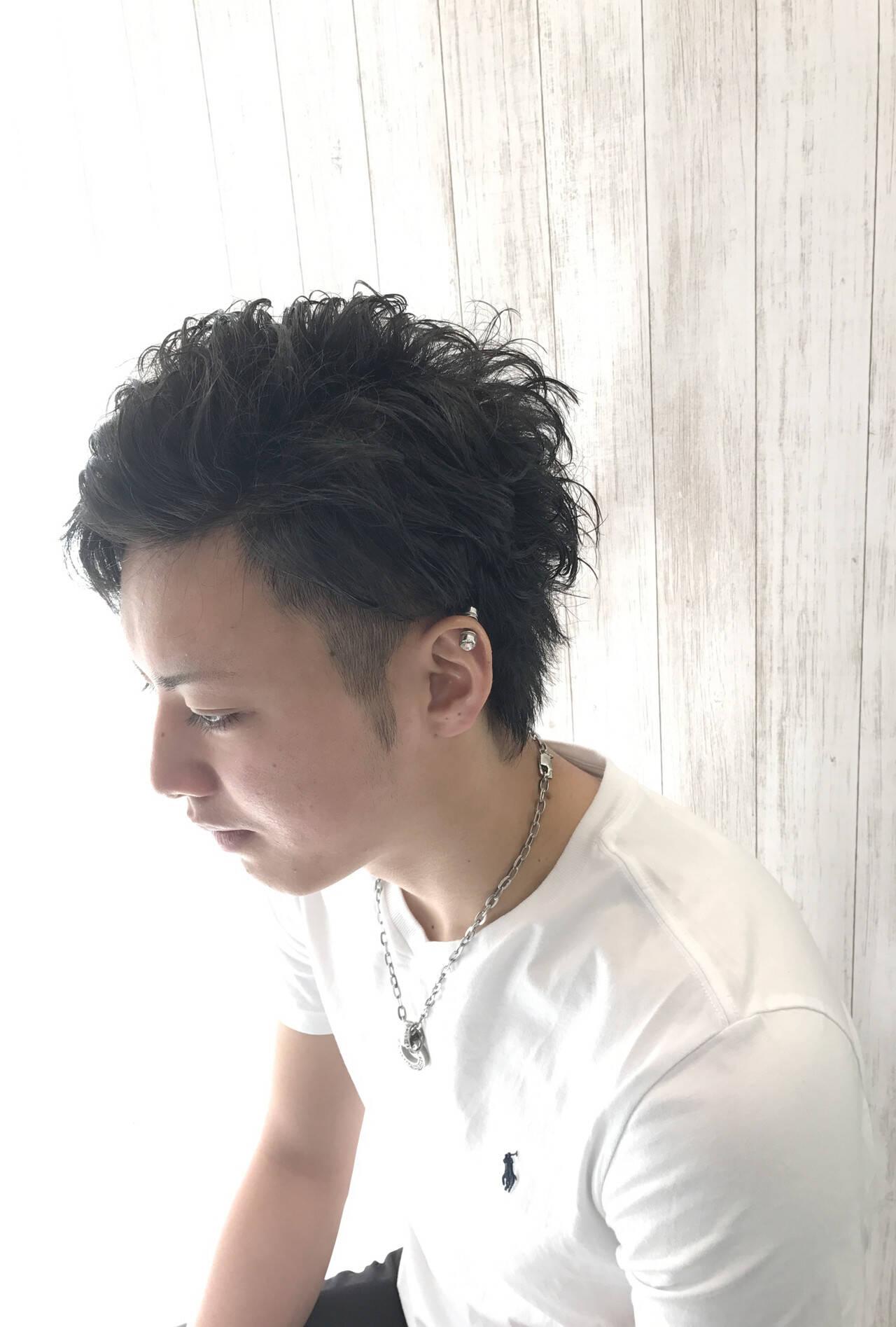 メンズショート メンズヘア ナチュラル メンズスタイルヘアスタイルや髪型の写真・画像