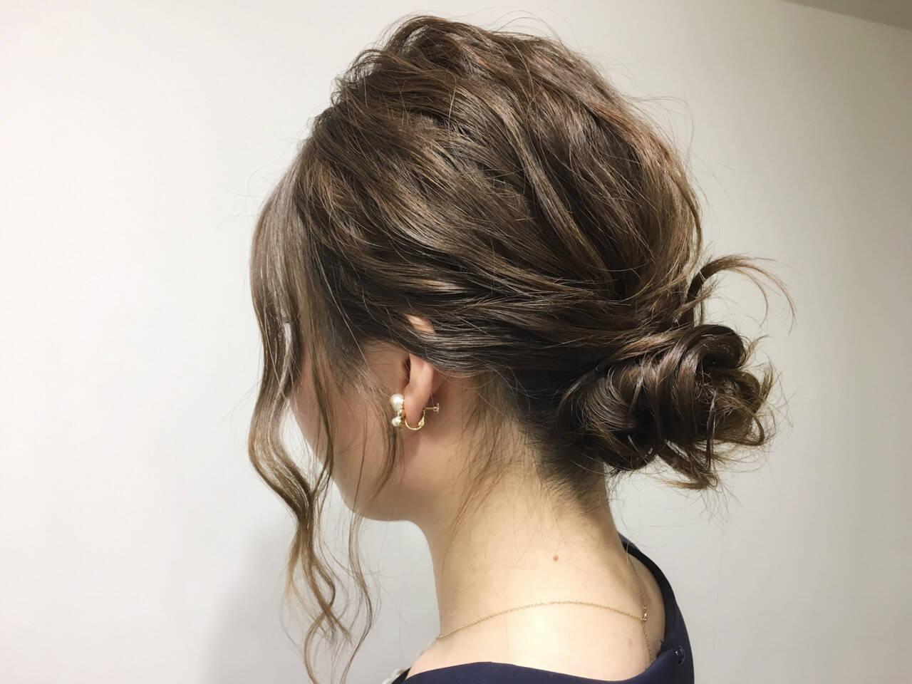 デート 女子会 ナチュラル セミロングヘアスタイルや髪型の写真・画像