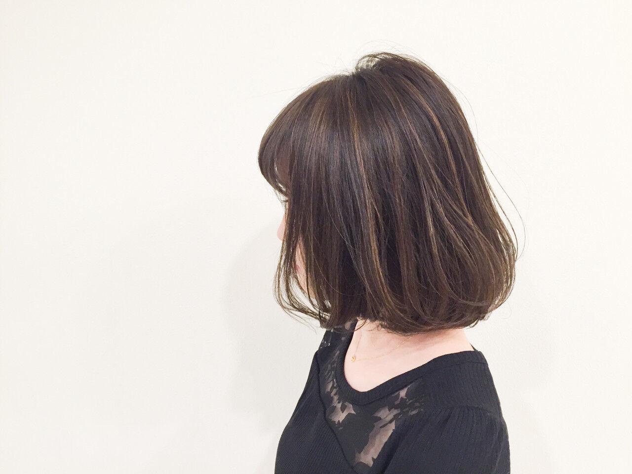 アッシュ ストリート 外国人風 ブラウンヘアスタイルや髪型の写真・画像