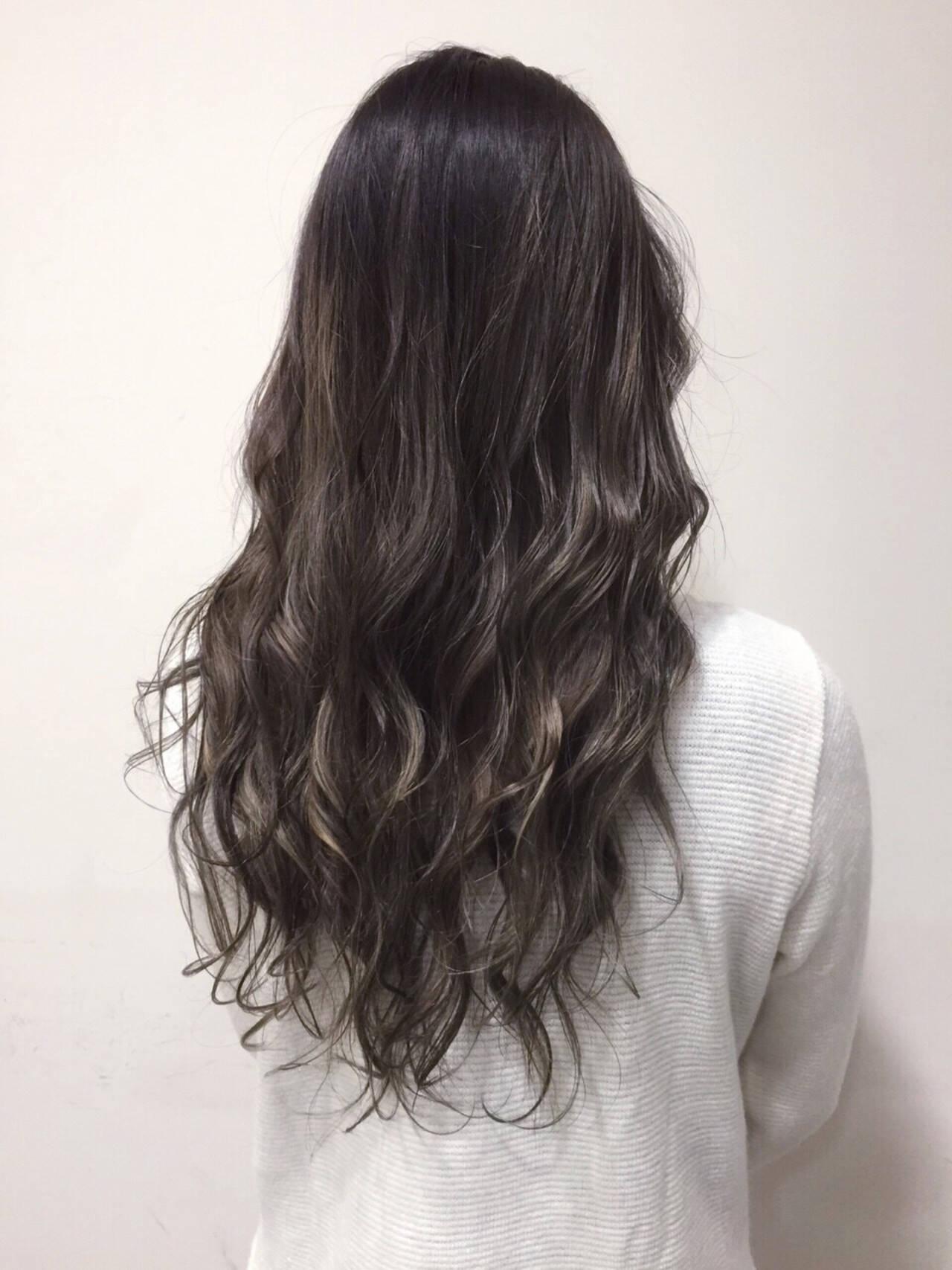 ガーリー ロング 渋谷系 外国人風ヘアスタイルや髪型の写真・画像
