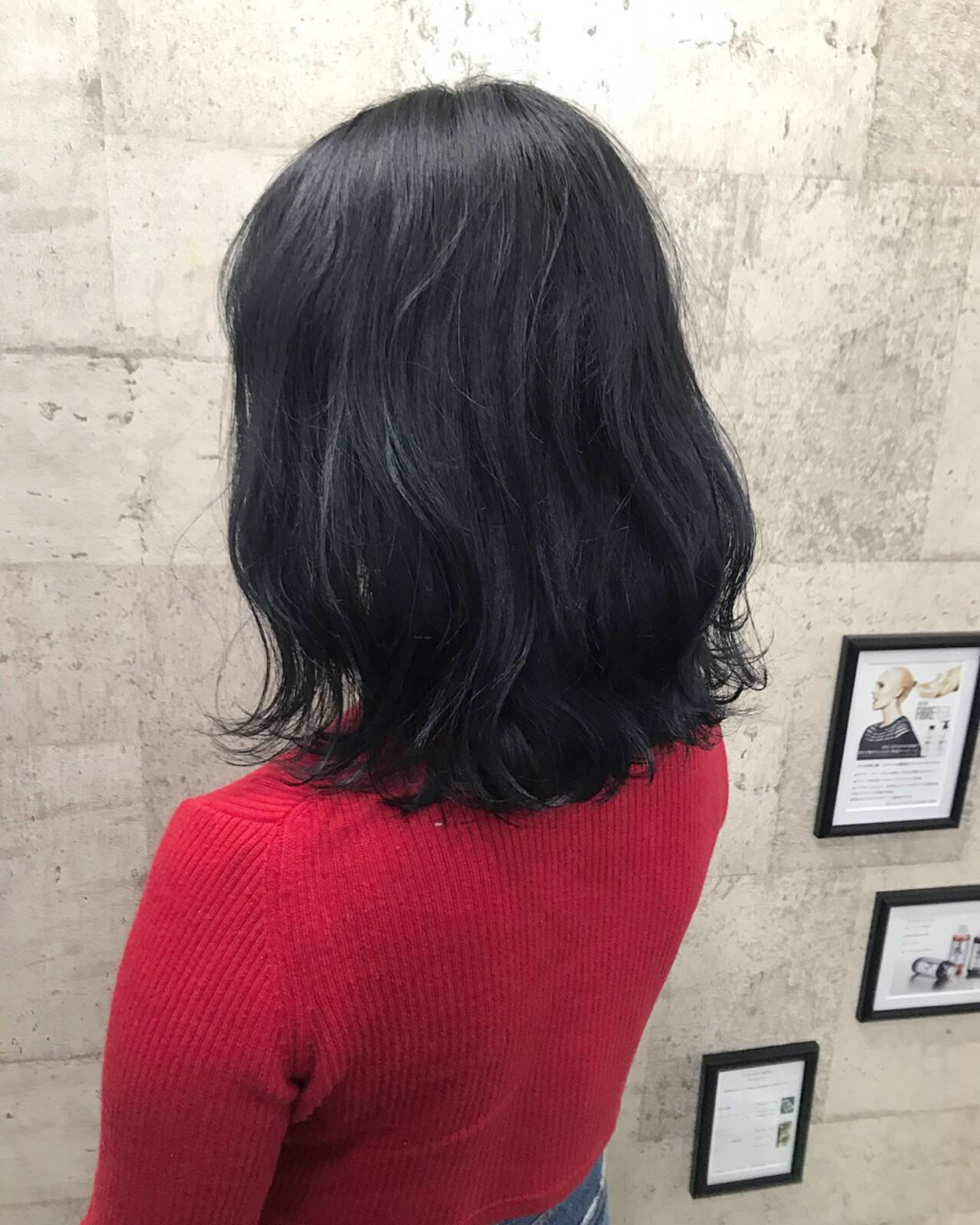 ボブ ハイトーン 外国人風カラー ダブルカラーヘアスタイルや髪型の写真・画像