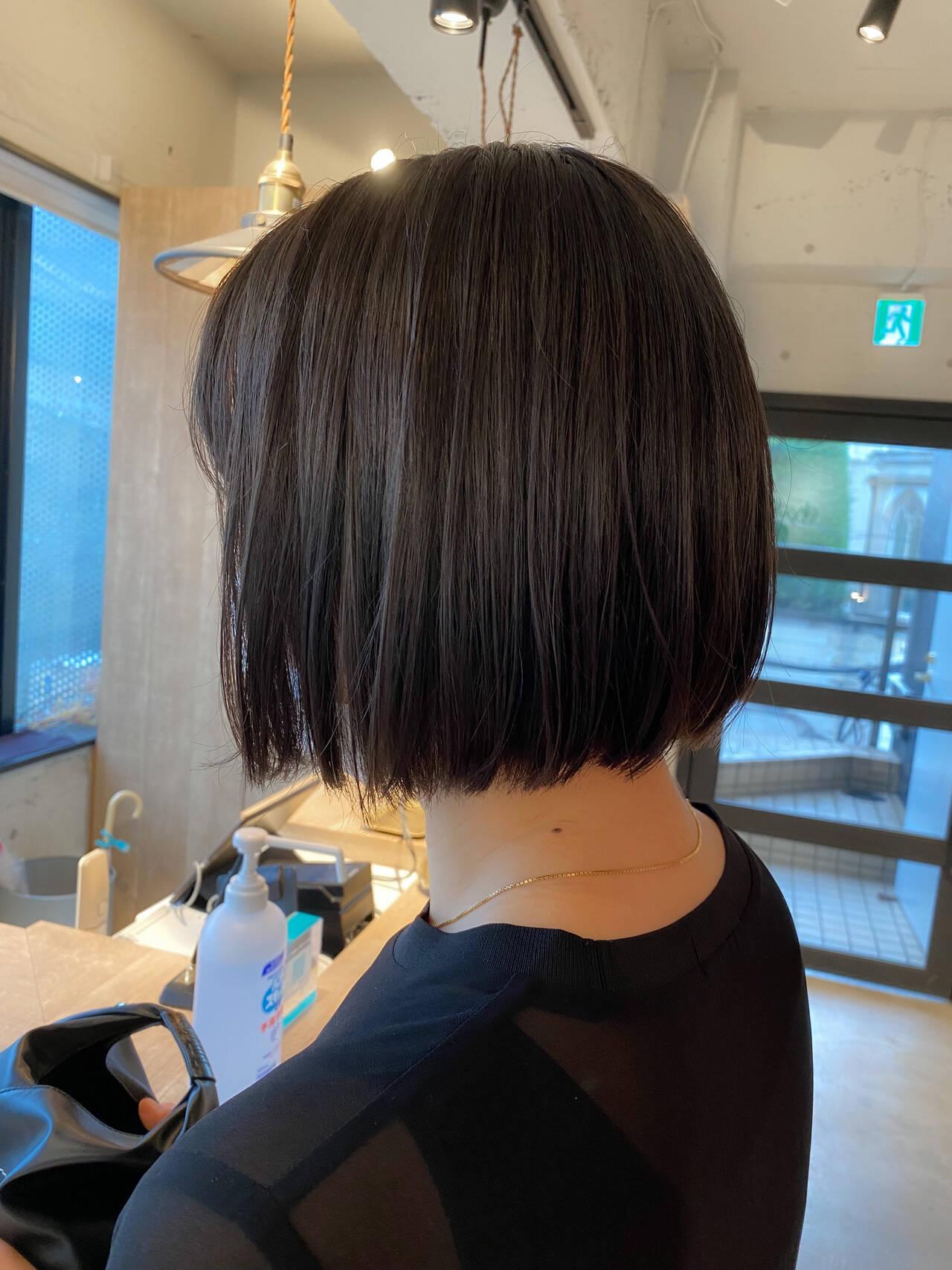 ベージュカラー 暖色 透明感カラー ナチュラルヘアスタイルや髪型の写真・画像