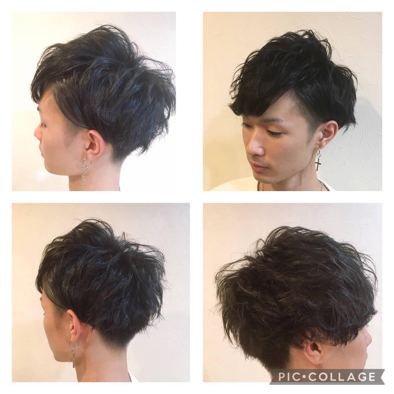 ショート ナチュラル メンズ メンズヘアヘアスタイルや髪型の写真・画像