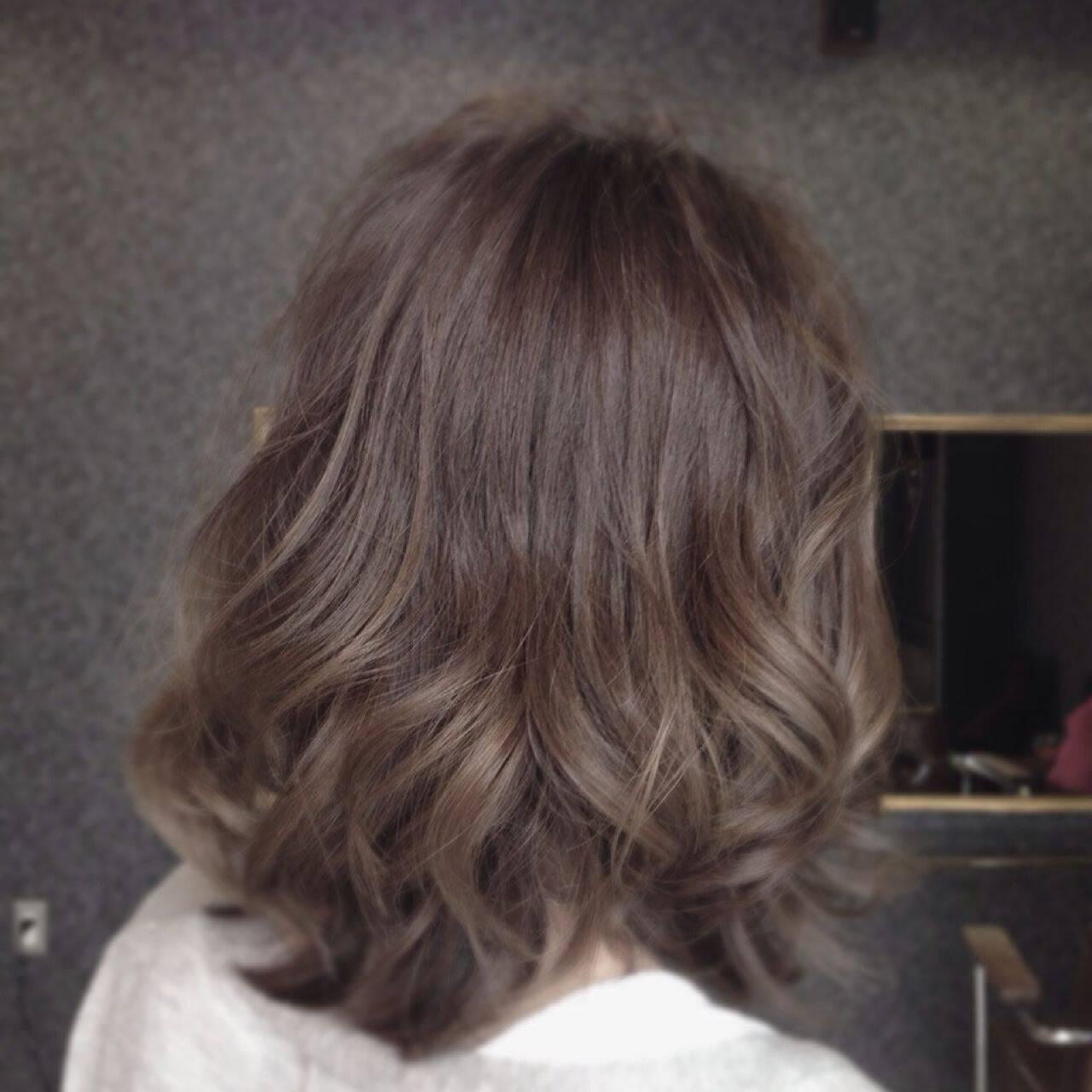 外国人風カラー 外国人風 ストリート グレージュヘアスタイルや髪型の写真・画像