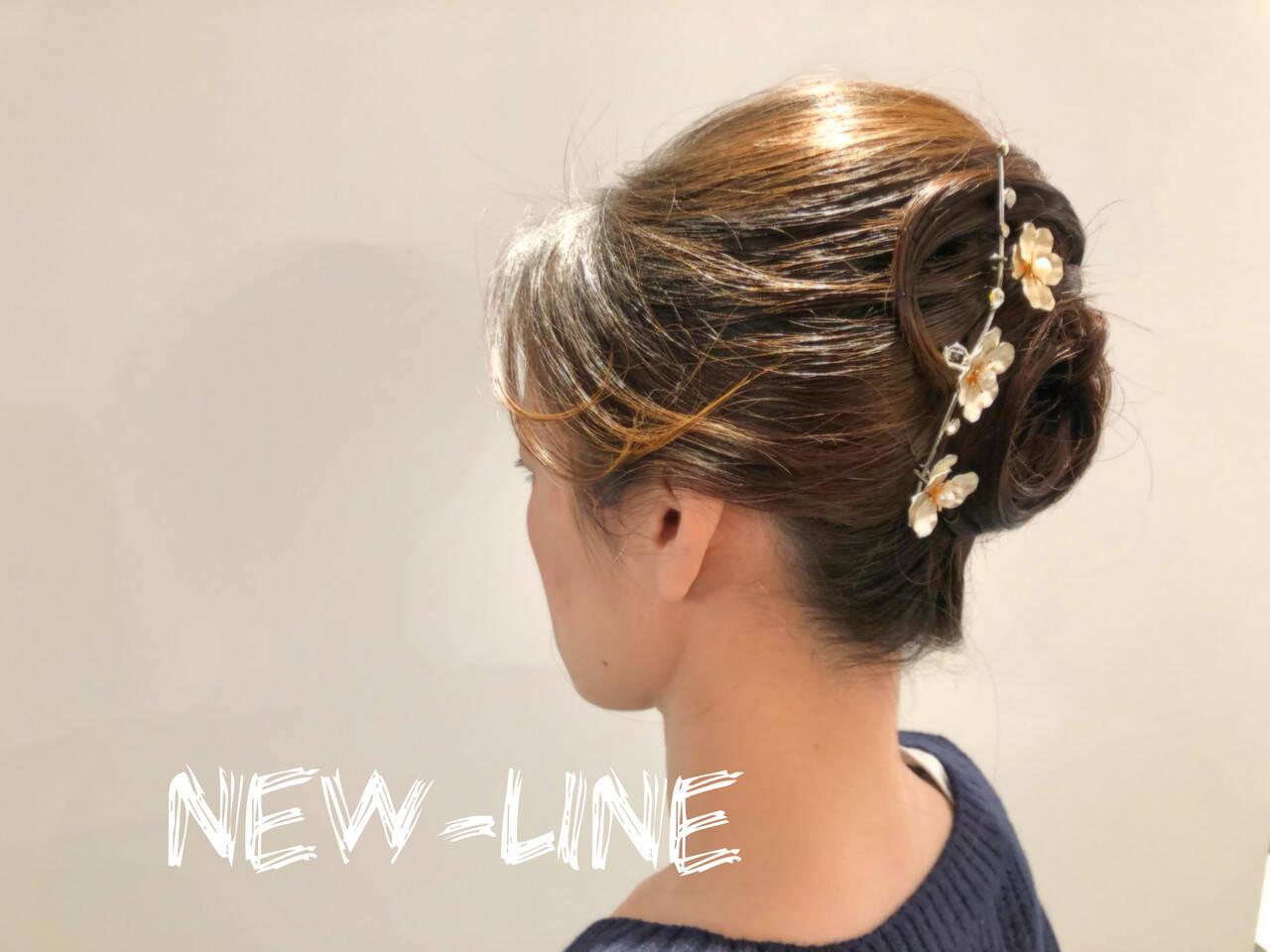 結婚式 ヘアアレンジ 成人式 大人かわいいヘアスタイルや髪型の写真・画像