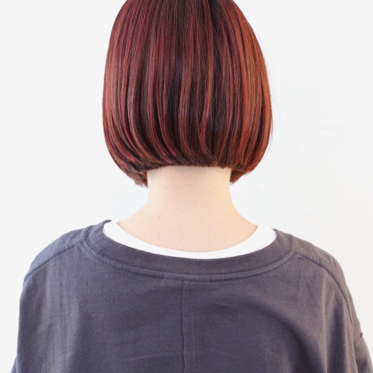 ストリート ブリーチカラー インナーカラー ハイライトヘアスタイルや髪型の写真・画像