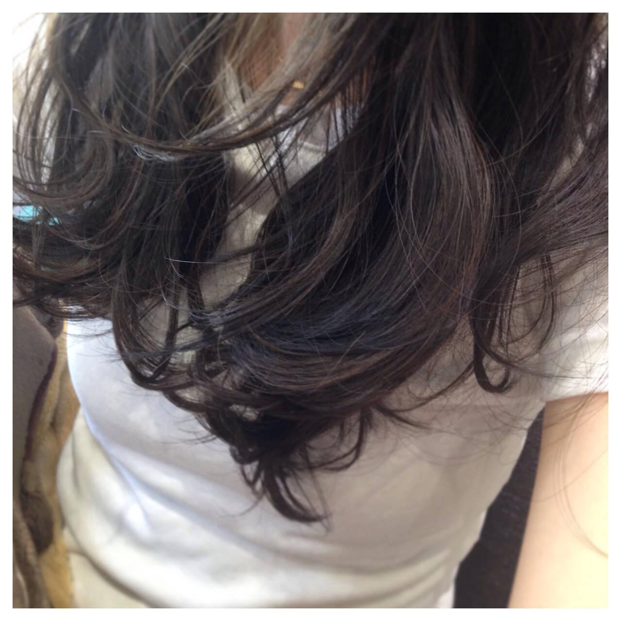 エレガント ローライト 上品 ロングヘアスタイルや髪型の写真・画像