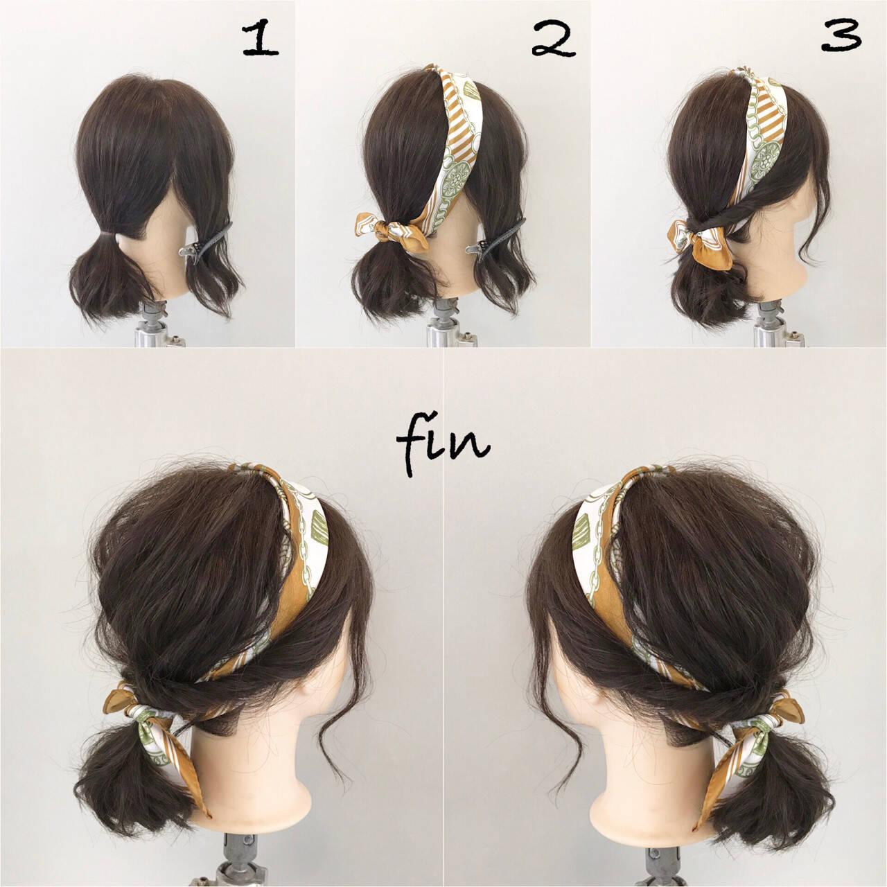 簡単ヘアアレンジ ヘアアレンジ ナチュラル 女子会ヘアスタイルや髪型の写真・画像