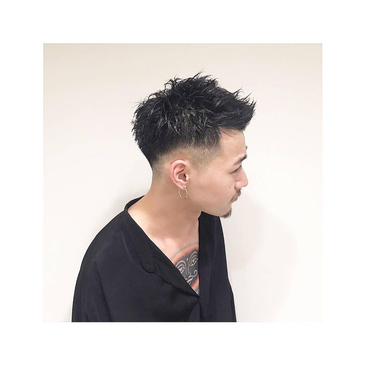 ベリーショート メンズショート スキンフェード ストリートヘアスタイルや髪型の写真・画像