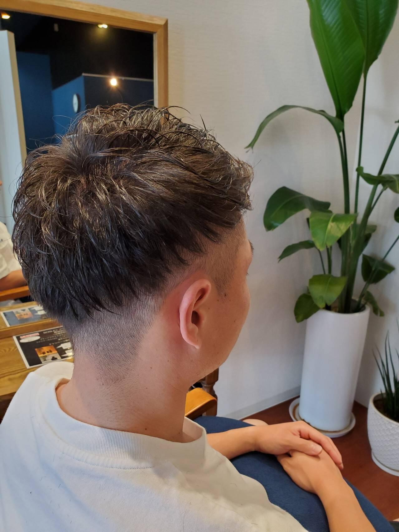 メンズカット ストリート メンズショート メンズヘアヘアスタイルや髪型の写真・画像