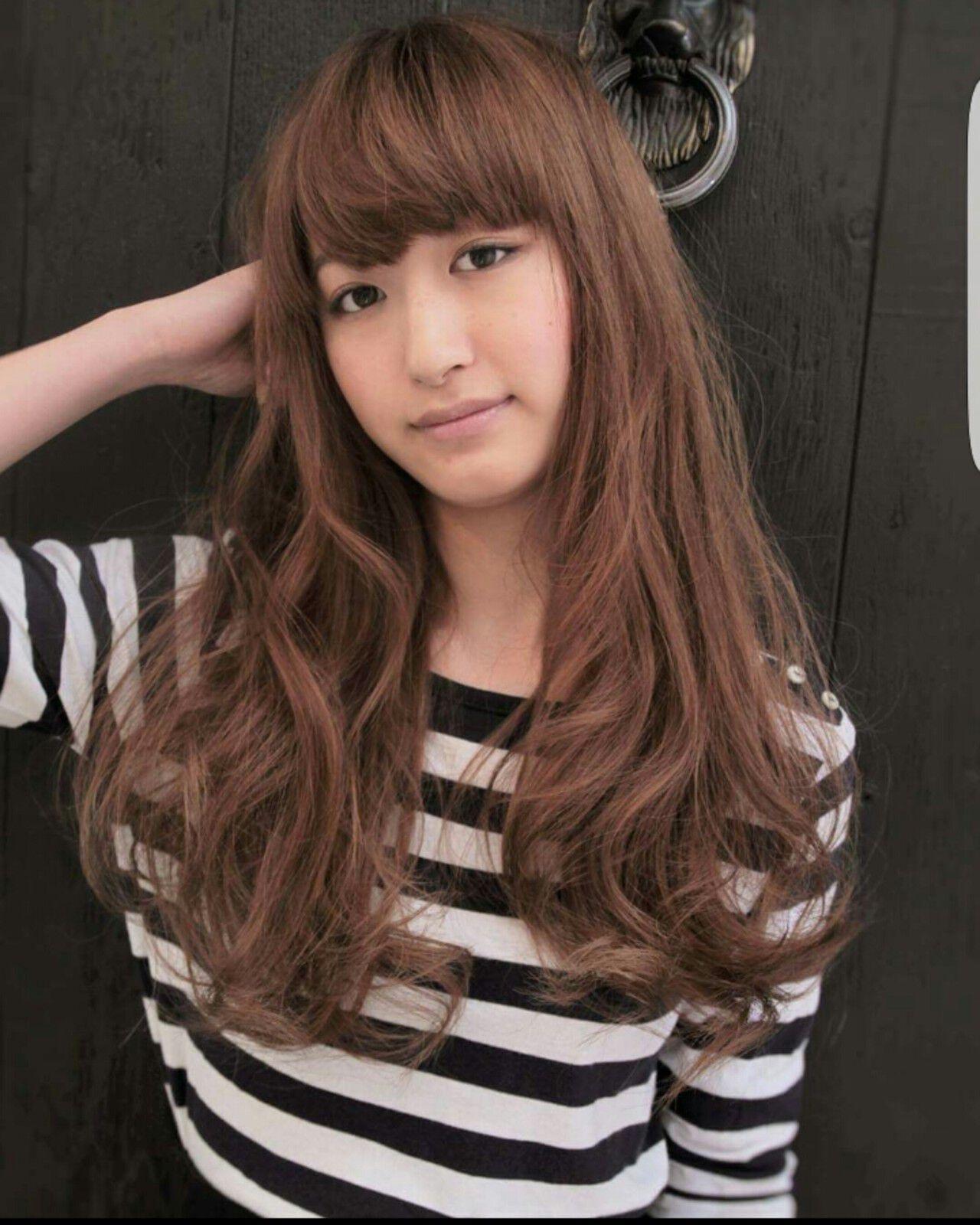 大人かわいい フェミニン パーマ ハイライトヘアスタイルや髪型の写真・画像