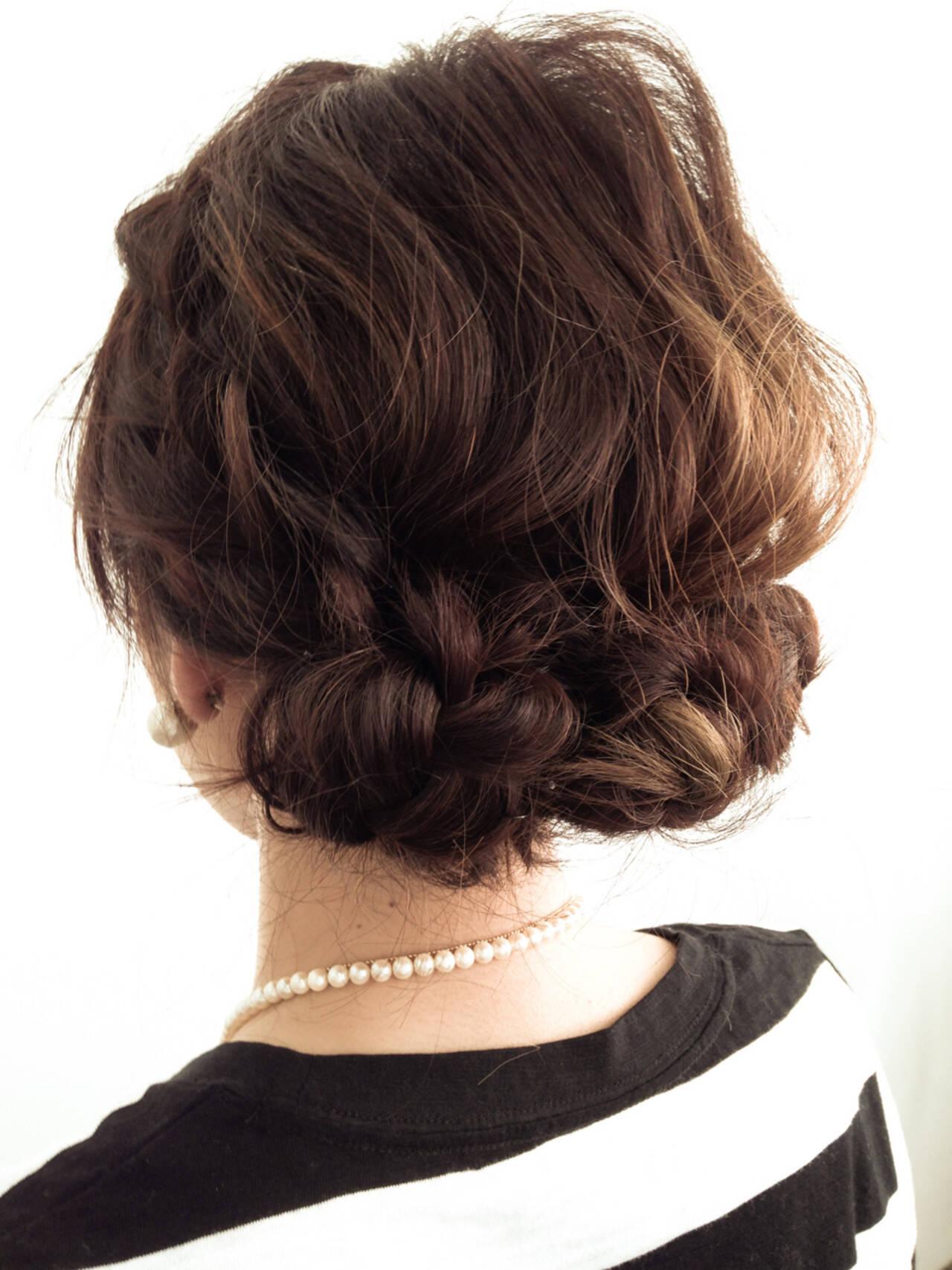 フェミニン ベージュ ナチュラル ショートヘアスタイルや髪型の写真・画像