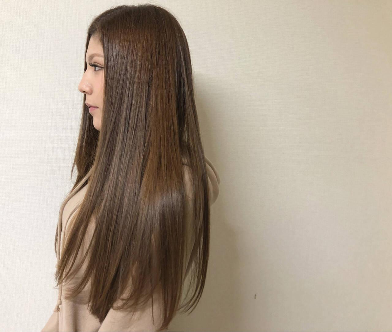 艶髪 大人女子 ナチュラル 透明感ヘアスタイルや髪型の写真・画像