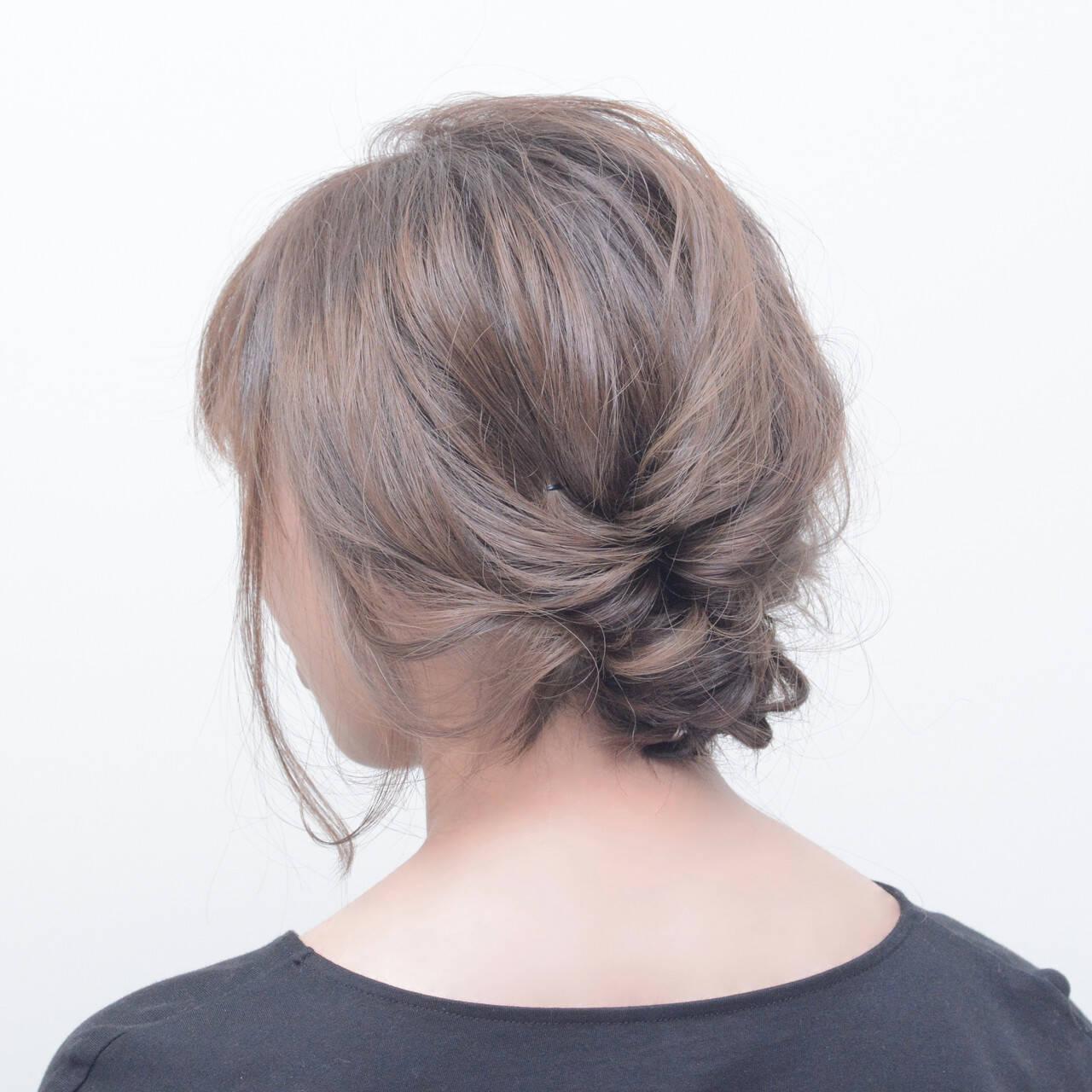 ナチュラル ボブアレンジ 大人かわいい ナチュラル可愛いヘアスタイルや髪型の写真・画像