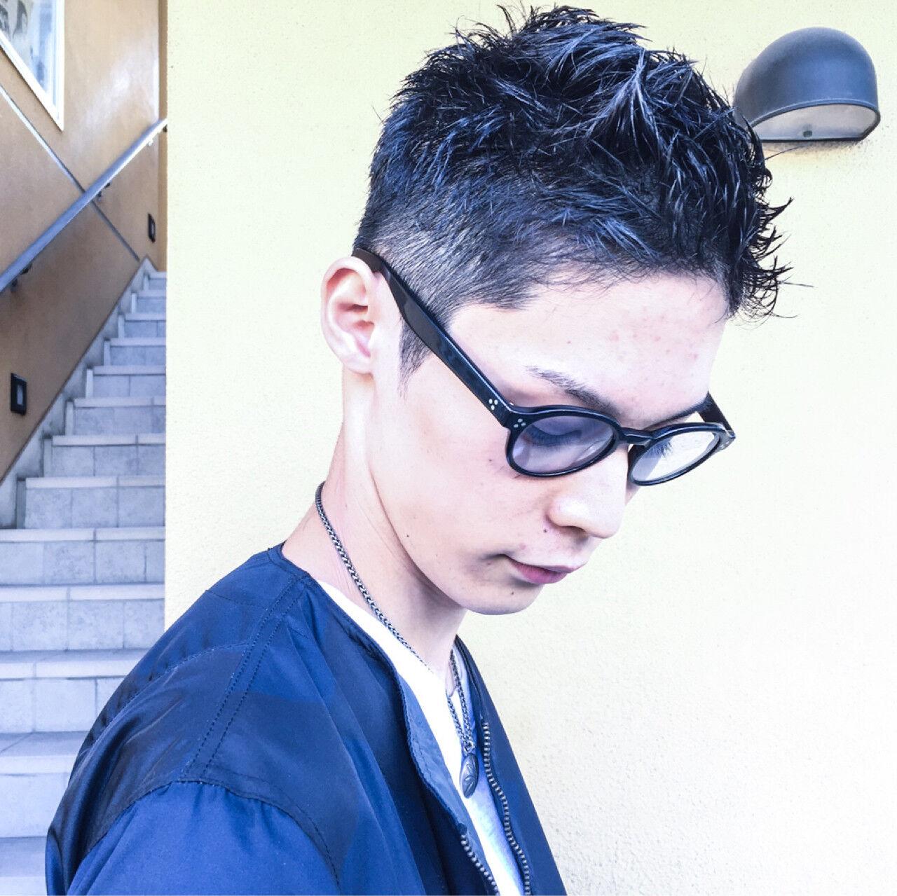 ベリーショート 外国人風 メンズ ショートヘアスタイルや髪型の写真・画像