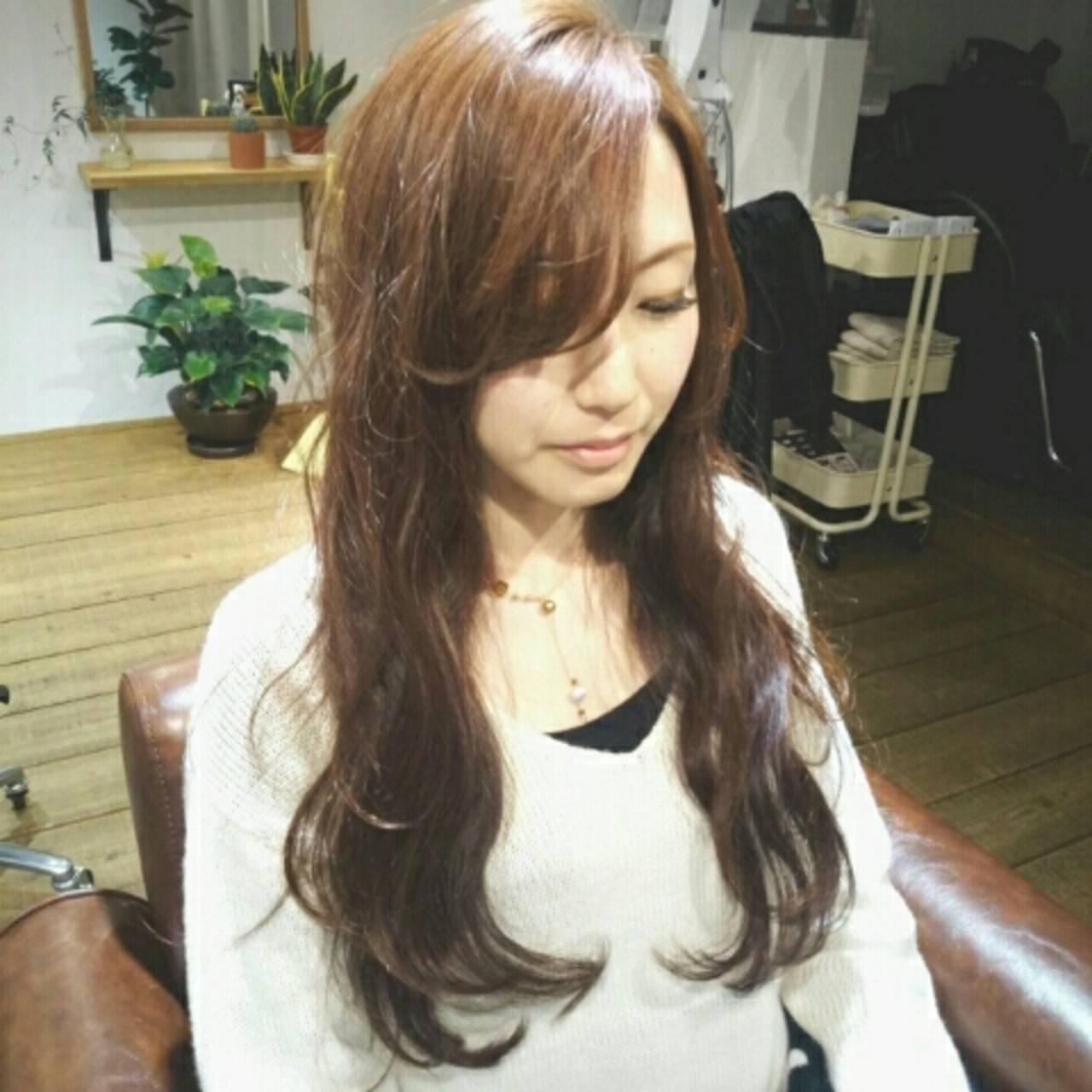 大人かわいい コンサバ 波ウェーブ フェミニンヘアスタイルや髪型の写真・画像