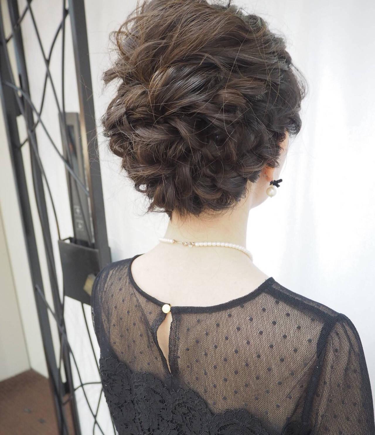 結婚式 簡単ヘアアレンジ ナチュラル デートヘアスタイルや髪型の写真・画像