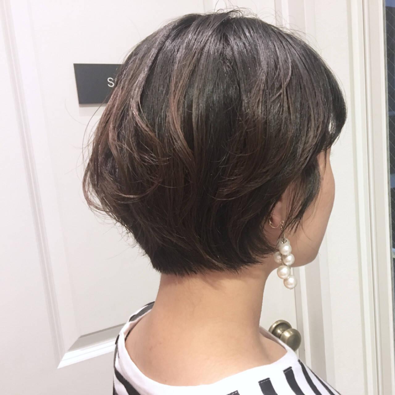ナチュラル ショート 無造作 ヘアアレンジヘアスタイルや髪型の写真・画像