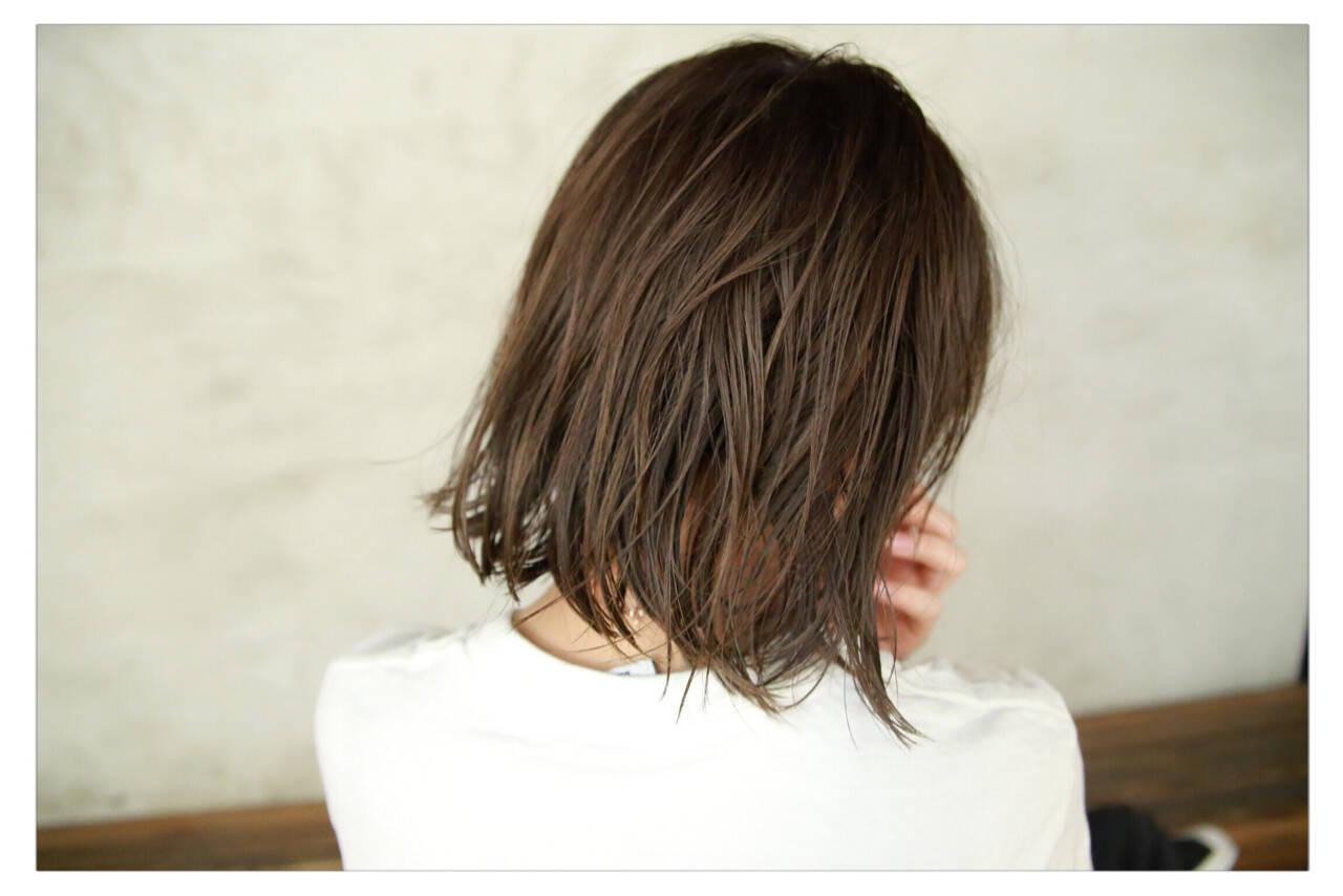 アッシュ 秋 ナチュラル 透明感ヘアスタイルや髪型の写真・画像