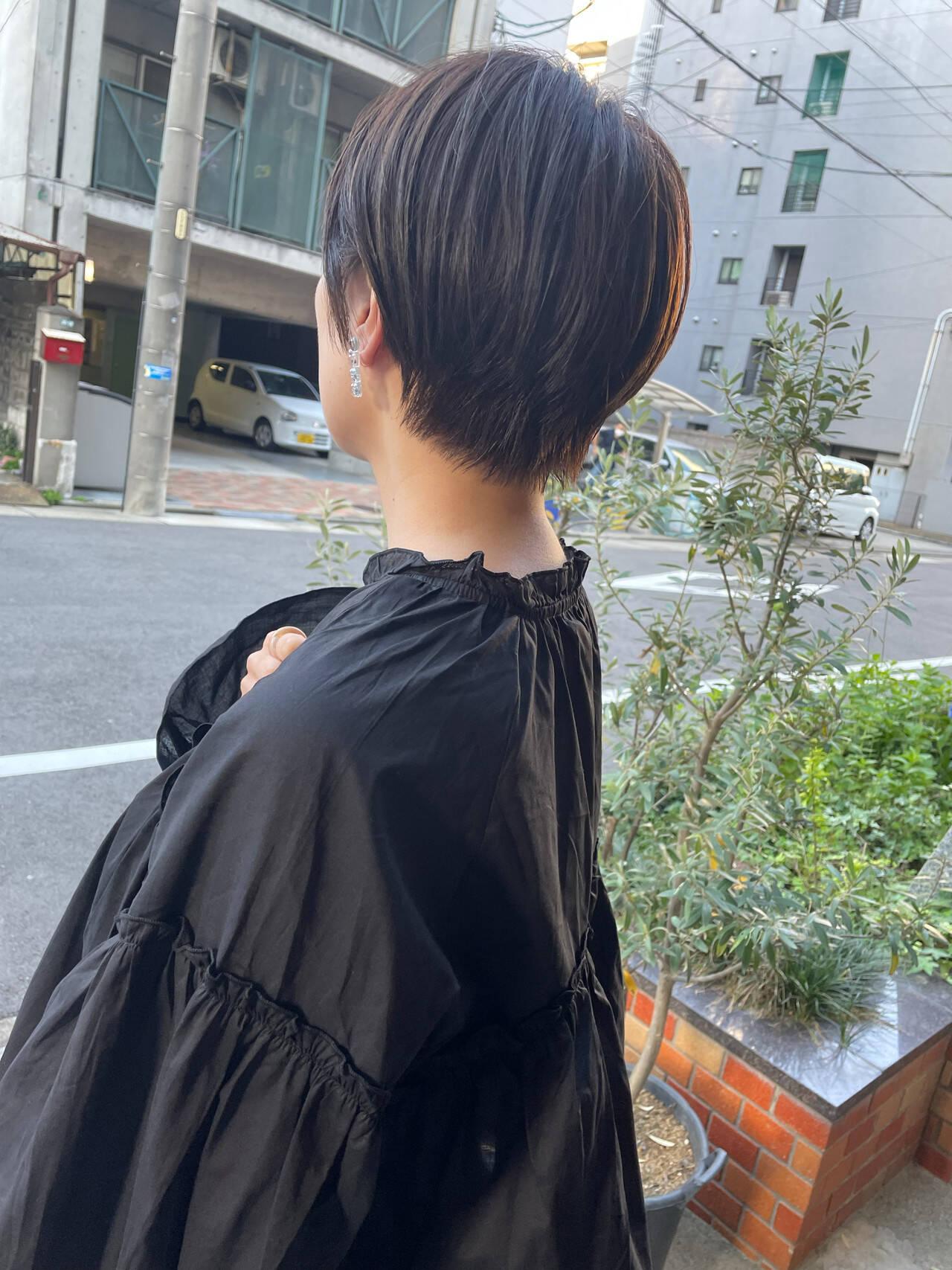 ベリーショート ショートボブ ショートヘア ショートヘアスタイルや髪型の写真・画像