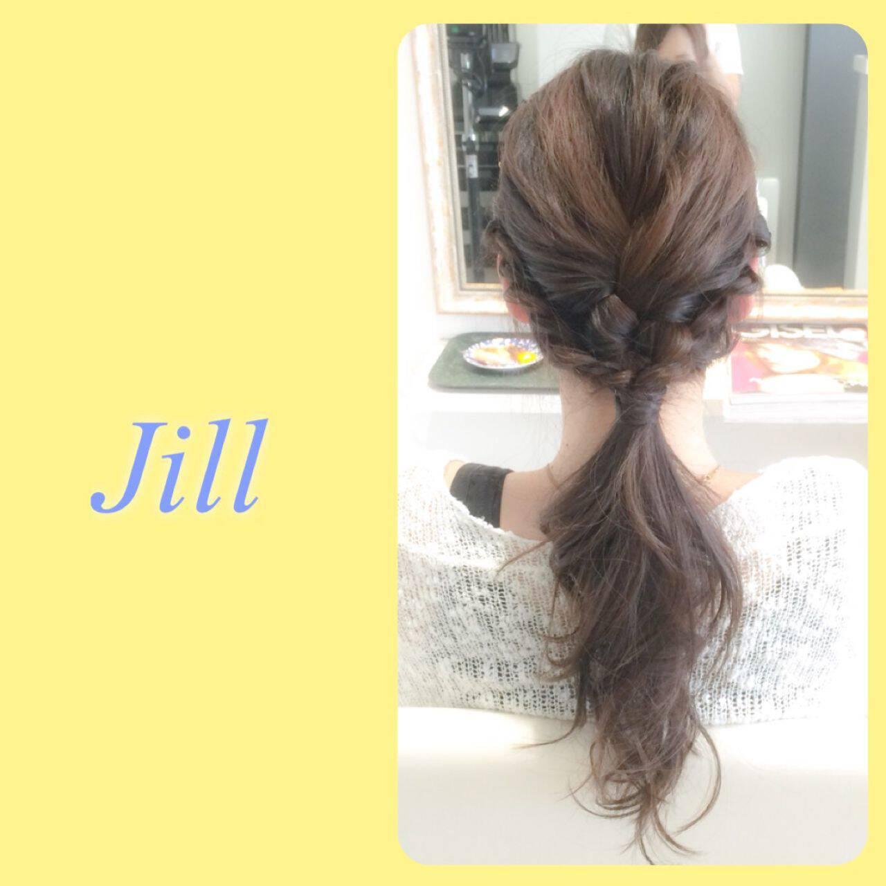 三つ編み 簡単ヘアアレンジ ヘアアレンジ ショートヘアスタイルや髪型の写真・画像