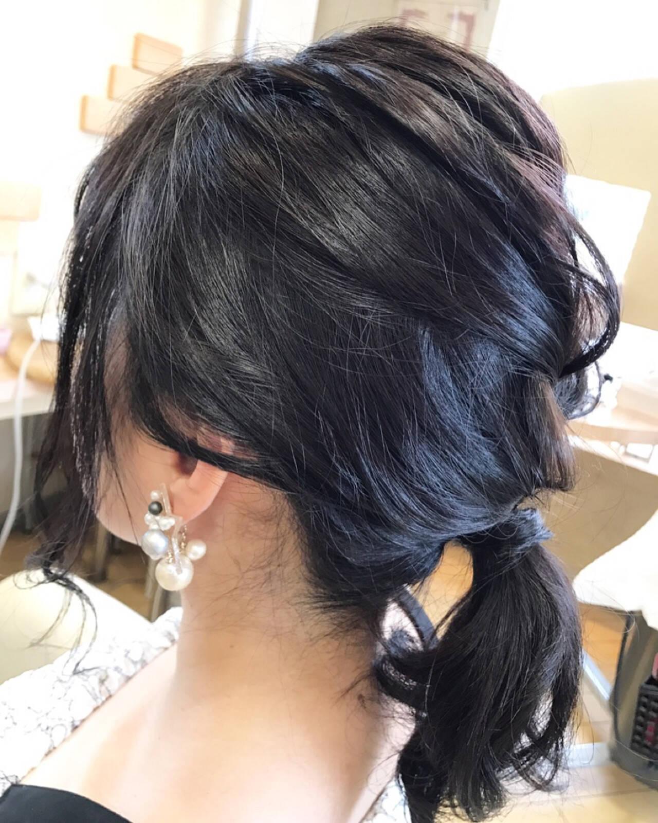 ナチュラル 涼しげ 透明感 大人かわいいヘアスタイルや髪型の写真・画像