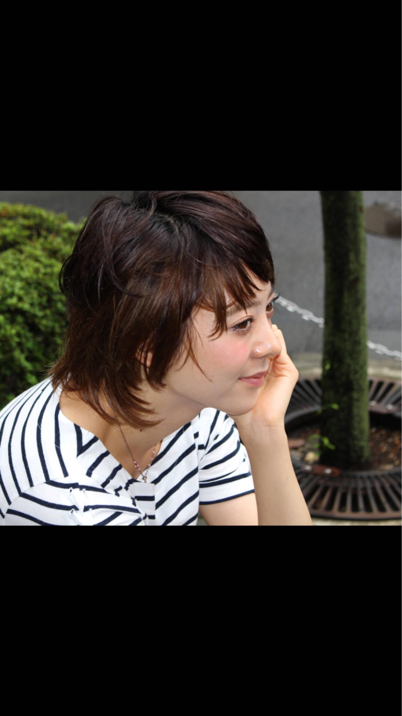 ショート 大人かわいい 外国人風 色気ヘアスタイルや髪型の写真・画像