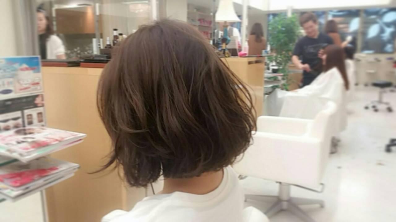 無造作 パーマ ゆるふわ デジタルパーマヘアスタイルや髪型の写真・画像