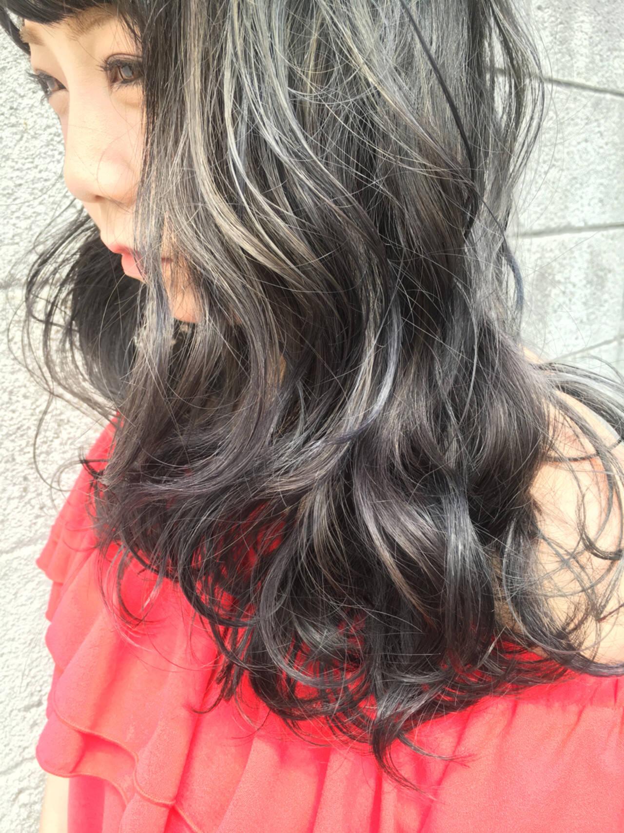 黒髪 結婚式 ロング ガーリーヘアスタイルや髪型の写真・画像