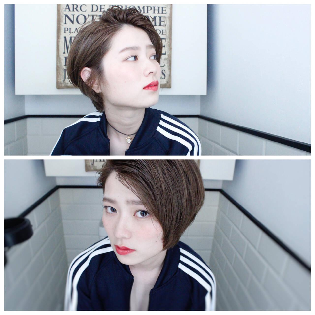 ニュアンス 外国人風 ミルクティー パーマヘアスタイルや髪型の写真・画像