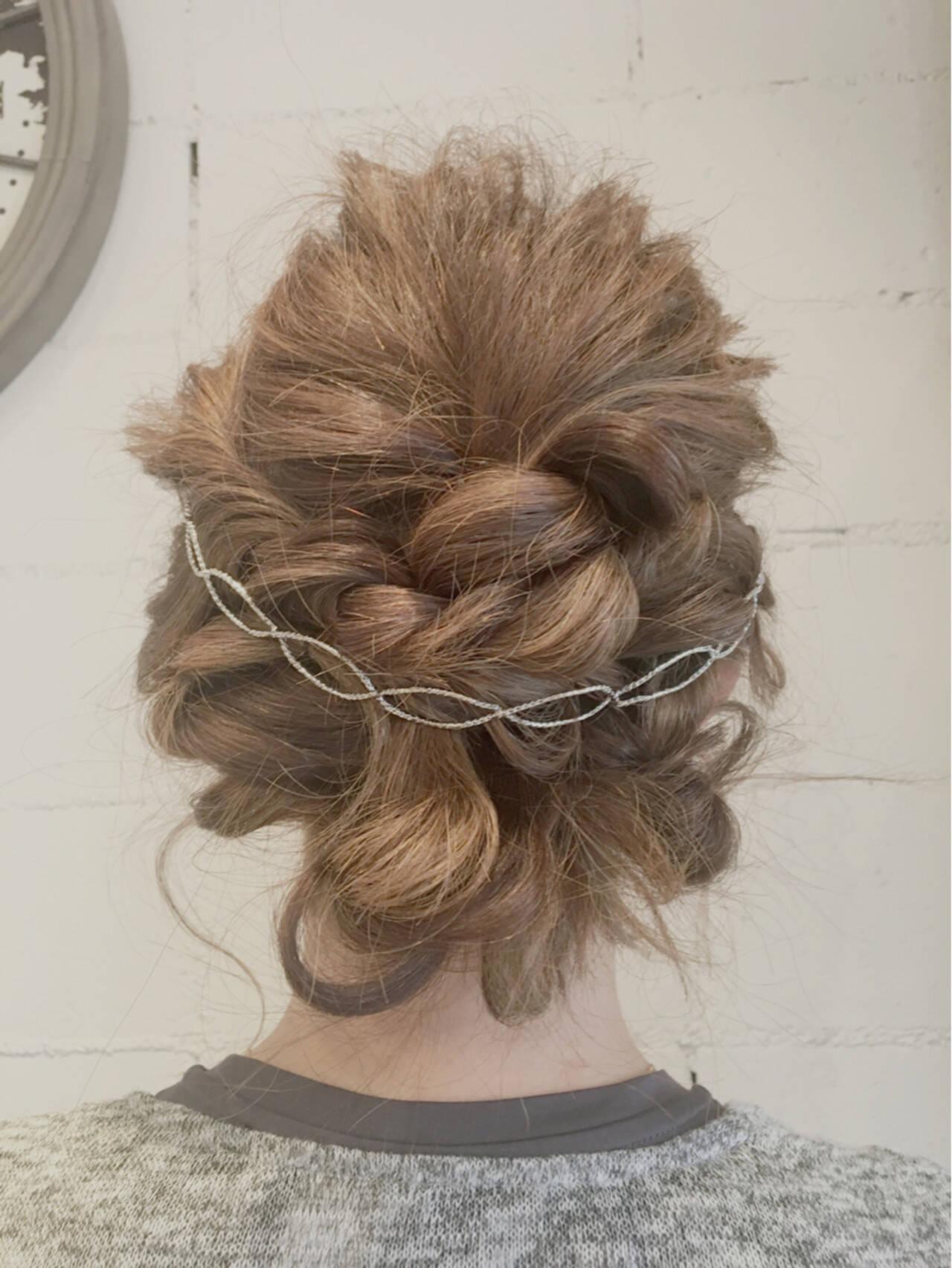 ミディアム 夏 ショート 結婚式ヘアスタイルや髪型の写真・画像