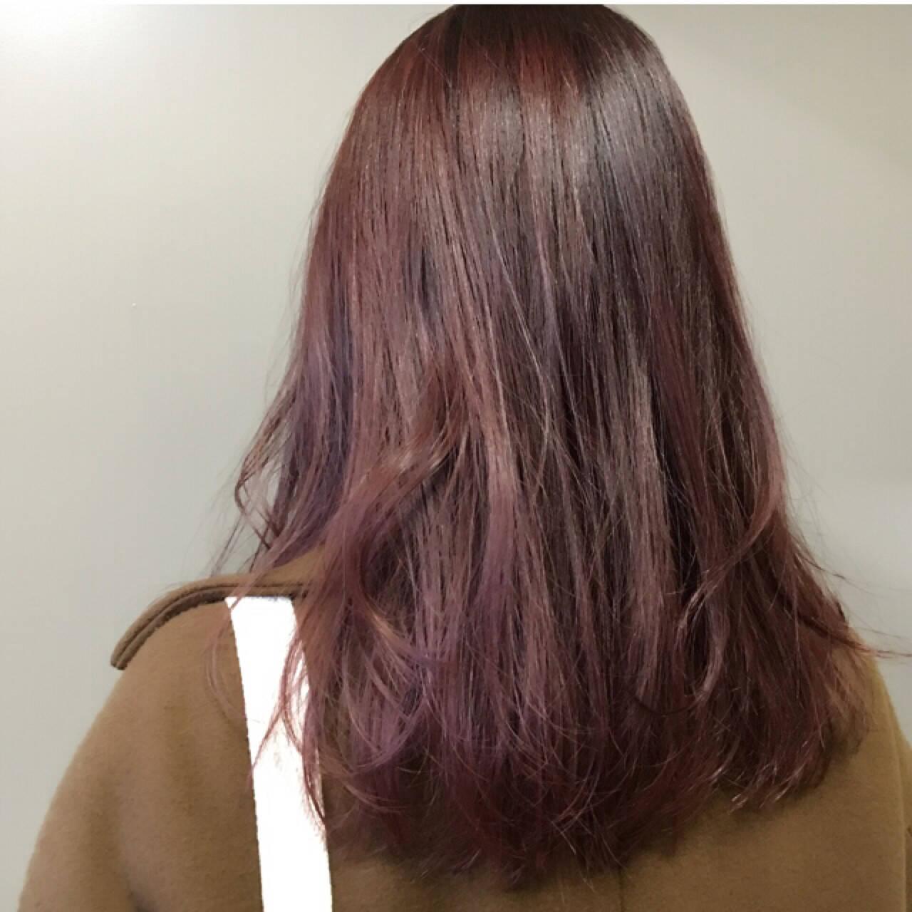 外国人風 色気 秋 レッドヘアスタイルや髪型の写真・画像