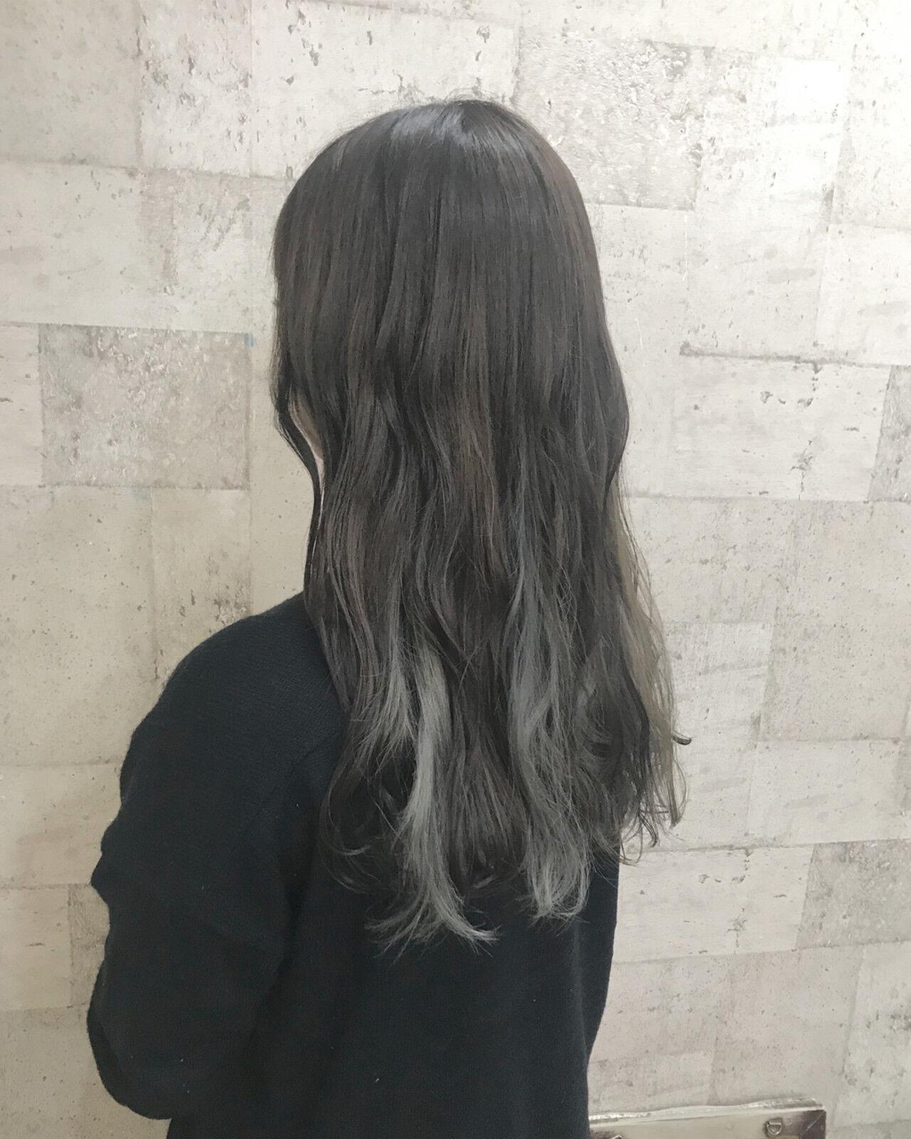ハイトーン ブリーチ 外国人風 外国人風カラーヘアスタイルや髪型の写真・画像