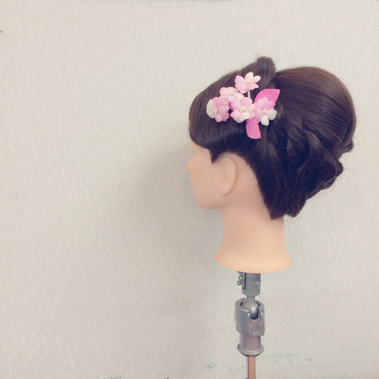 結婚式 簡単ヘアアレンジ セミロング ヘアアレンジヘアスタイルや髪型の写真・画像