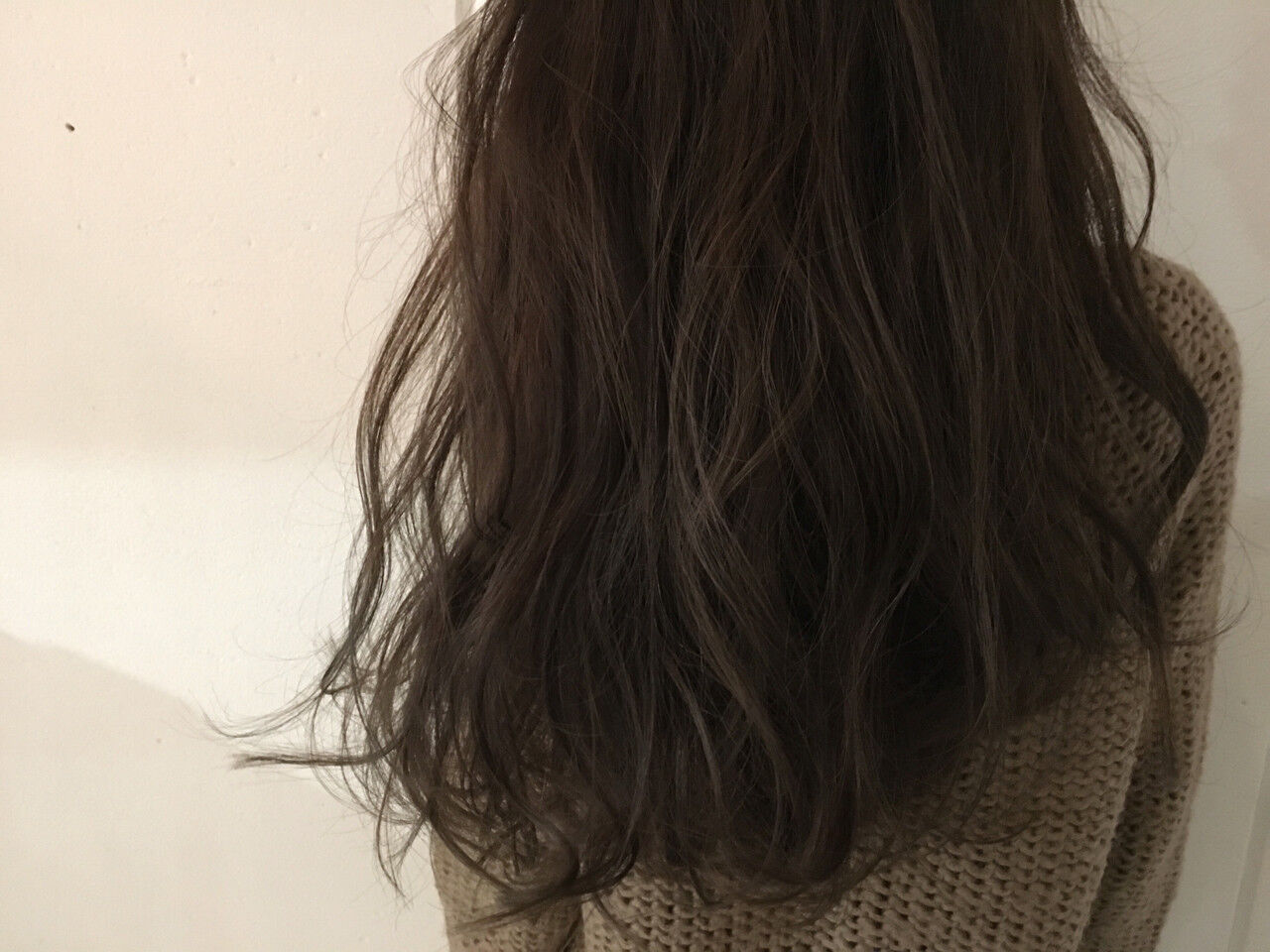 セミロング ナチュラル グラデーションカラー 外国人風ヘアスタイルや髪型の写真・画像
