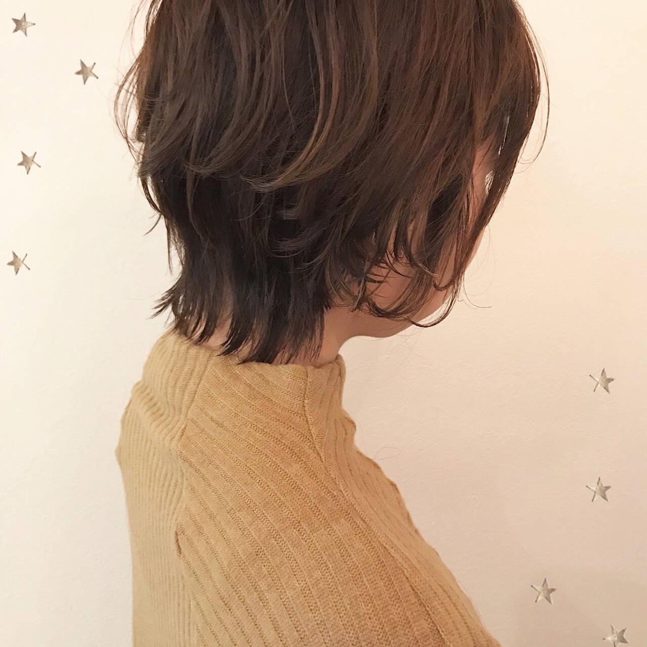 ナチュラル ショート ゆるふわ アンニュイヘアスタイルや髪型の写真・画像