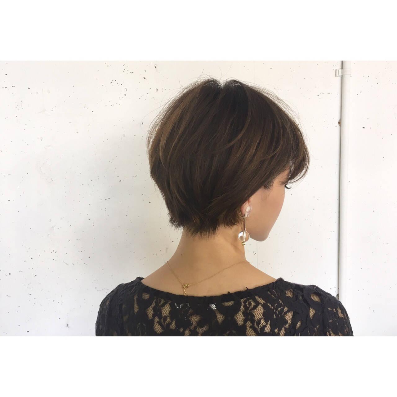 ハンサム リラックス ショート かっこいいヘアスタイルや髪型の写真・画像