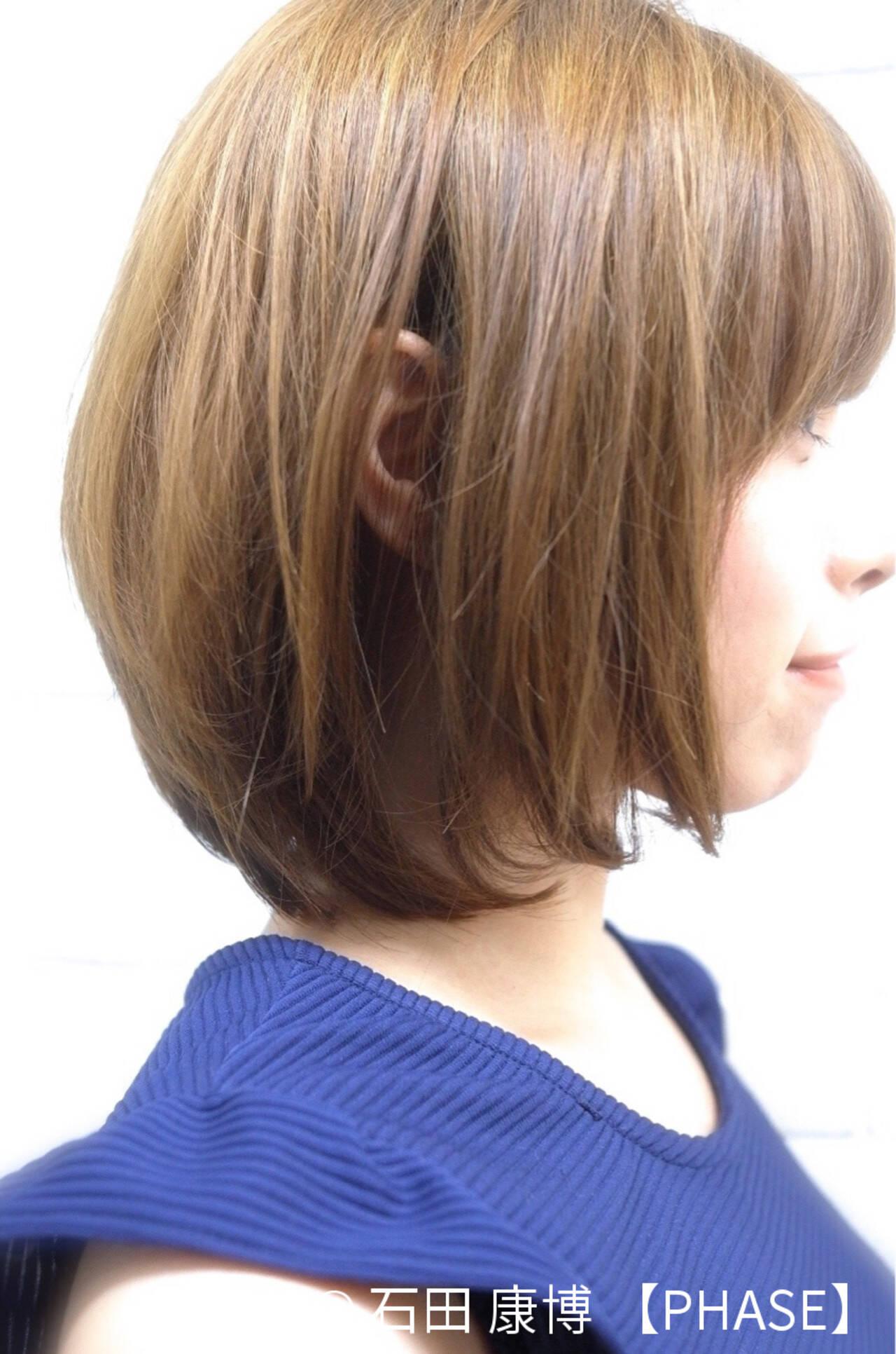 フェミニン 大人かわいい ひし形 冬ヘアスタイルや髪型の写真・画像