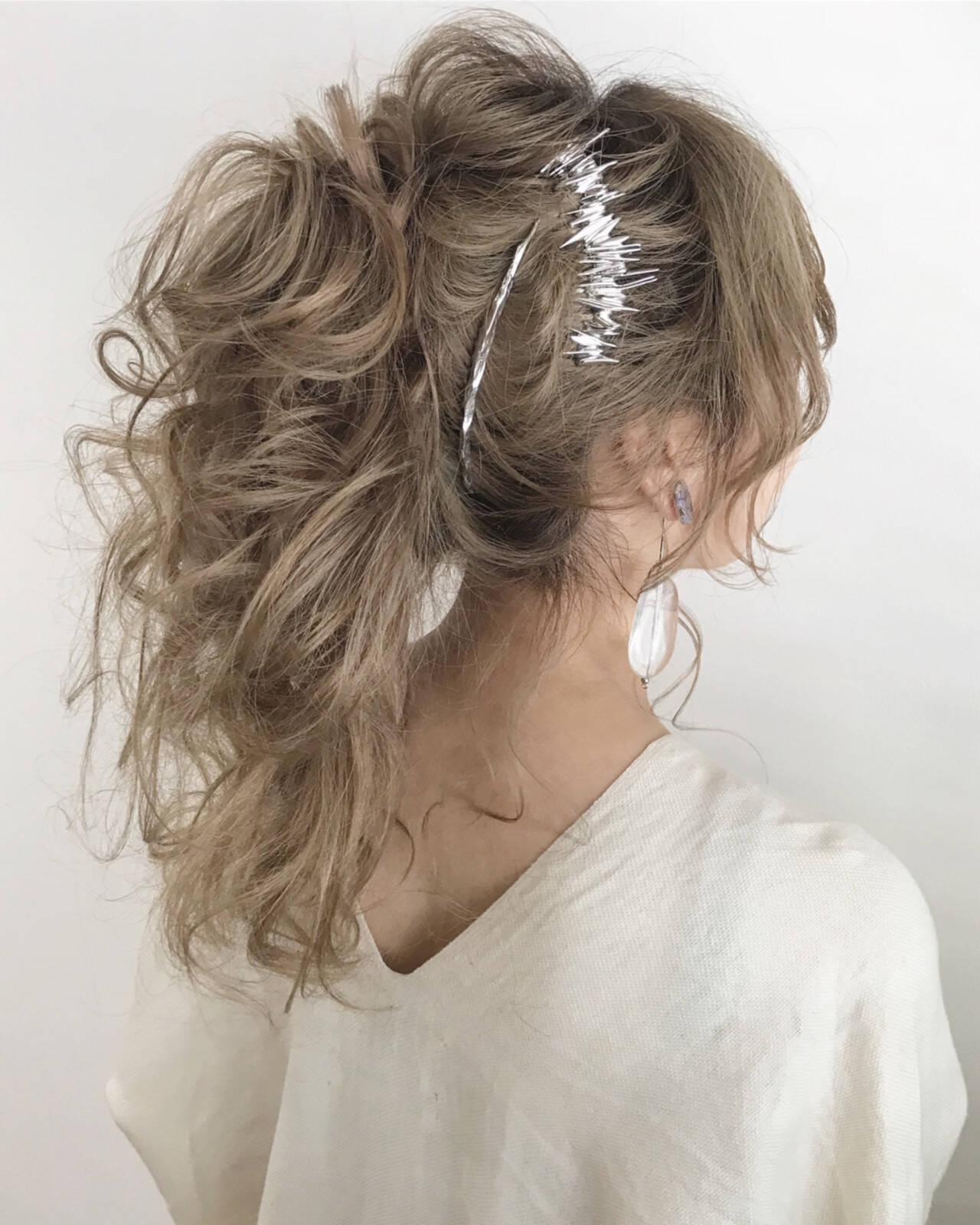 涼しげ デート 夏 ロングヘアスタイルや髪型の写真・画像