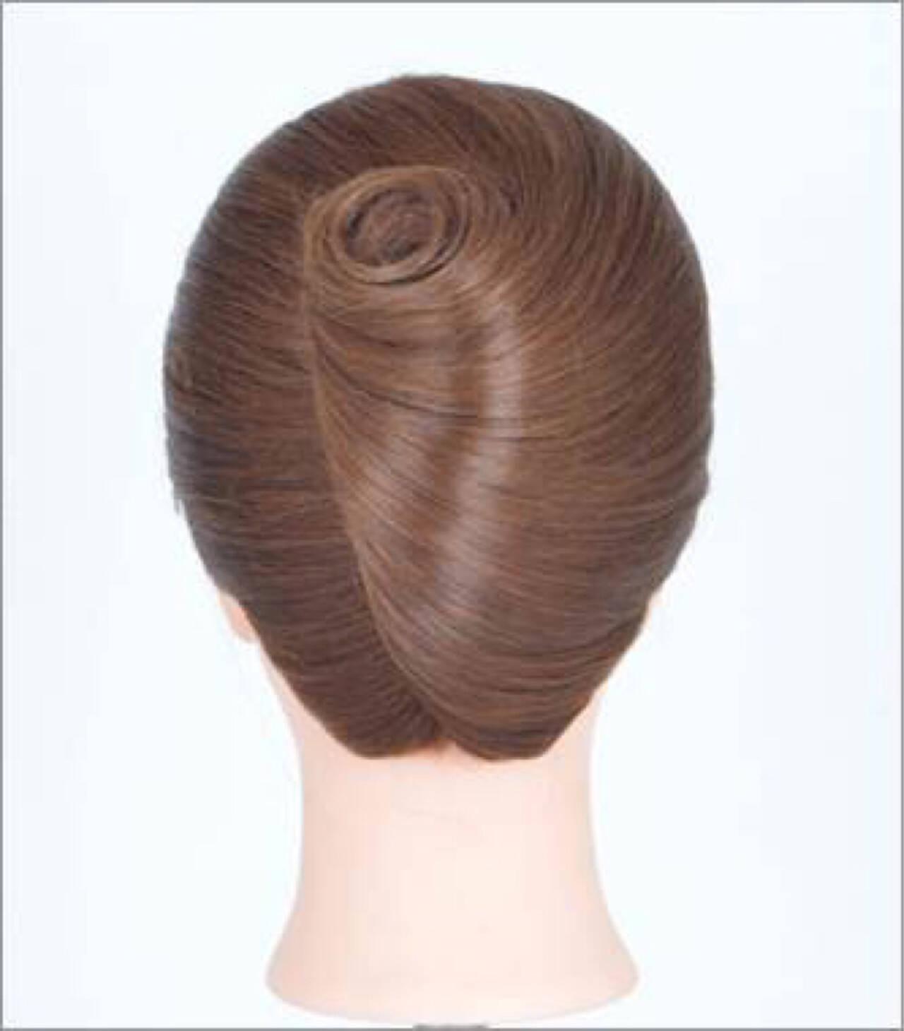 ヘアアレンジ 着物 夜会巻 ロングヘアスタイルや髪型の写真・画像