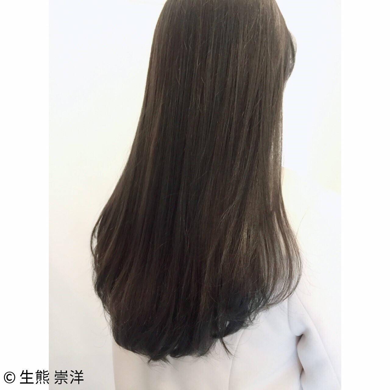 暗髪 大人かわいい ニュアンス 外国人風ヘアスタイルや髪型の写真・画像