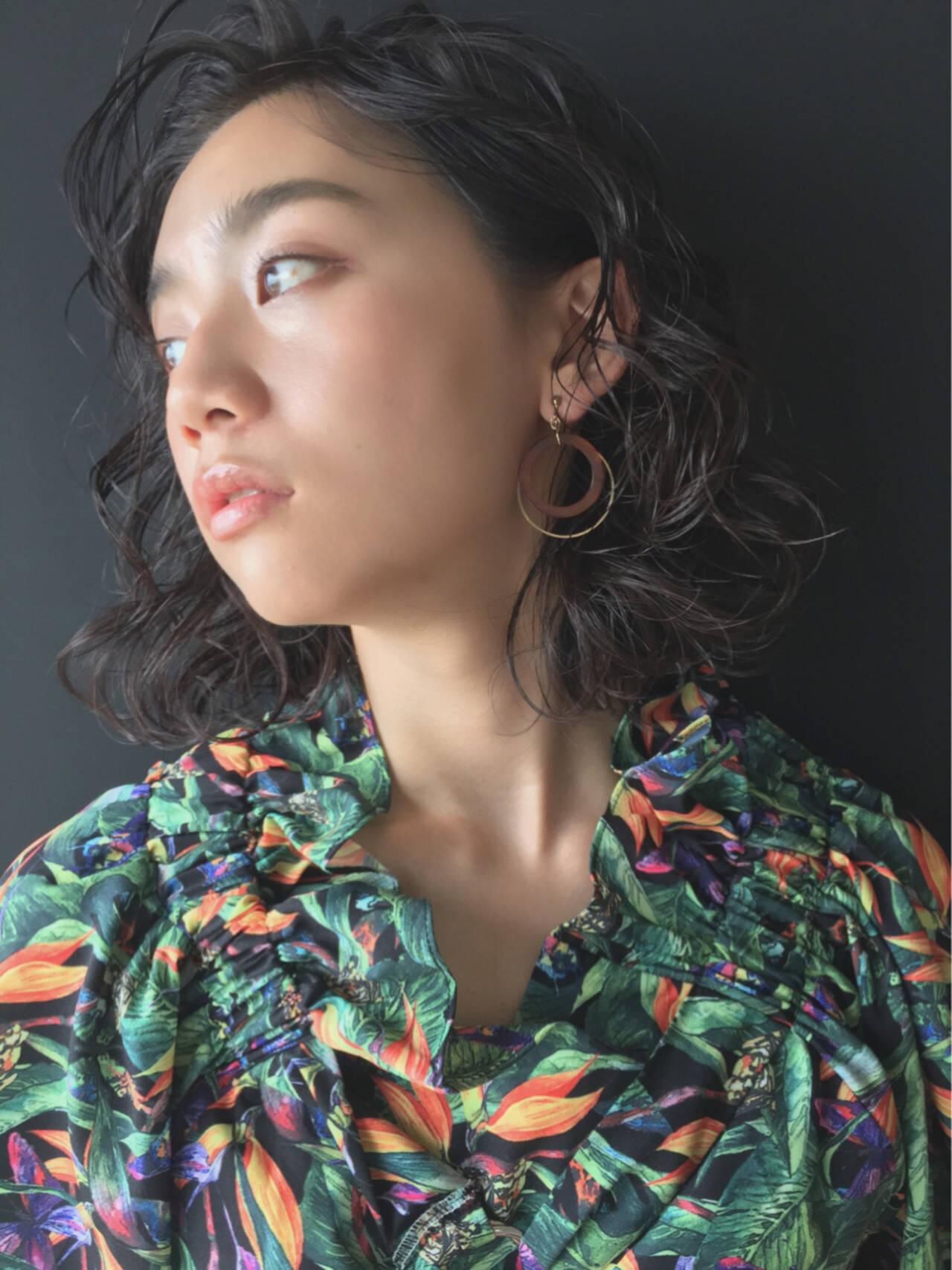 ガーリー 大人かわいい ミディアム ヘアアレンジヘアスタイルや髪型の写真・画像